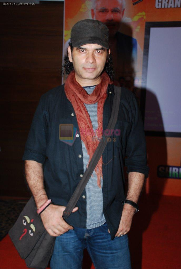 Mohit Chauhan releases song dedicated to Nation and Modi in Andheri, Mumbai on 28th Oct 2014