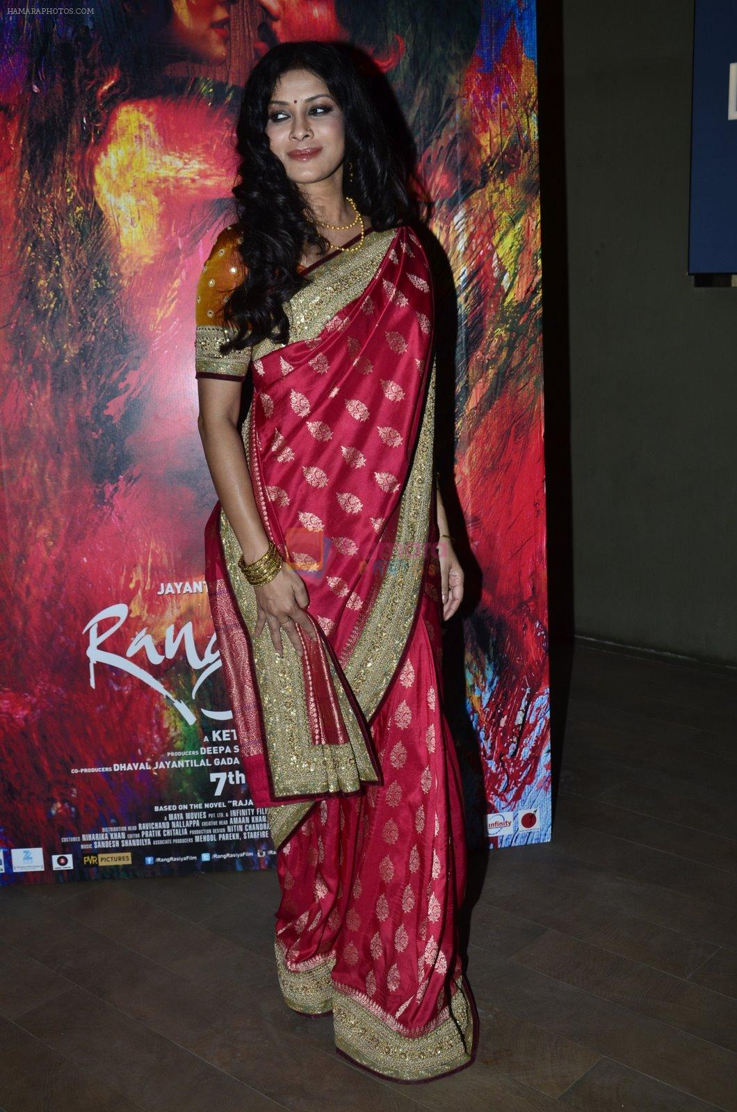 Nandana Sen at Rang Rasiya screening in Lightbox, Mumbai on 4th Nov 2014