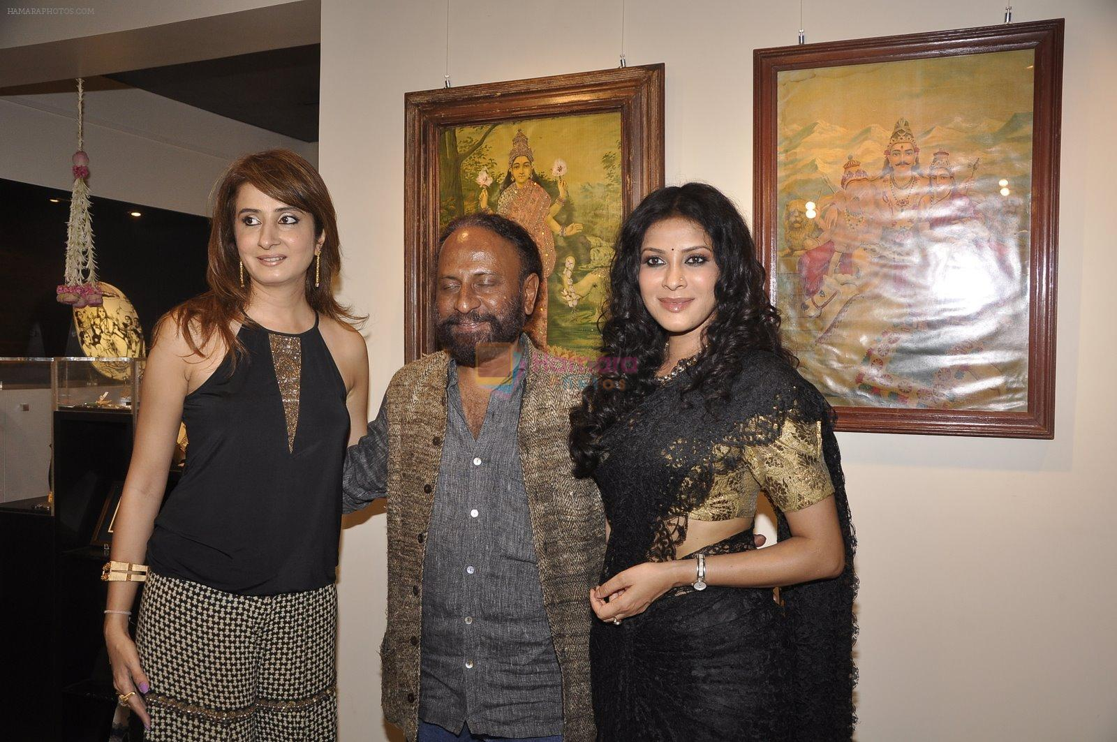 Nandana Sen, Ketan Mehta at the Inauguration of Raja Ravi Verma Collection of Life and Work in marine Lines, Mumbai on 5th Nov 2014