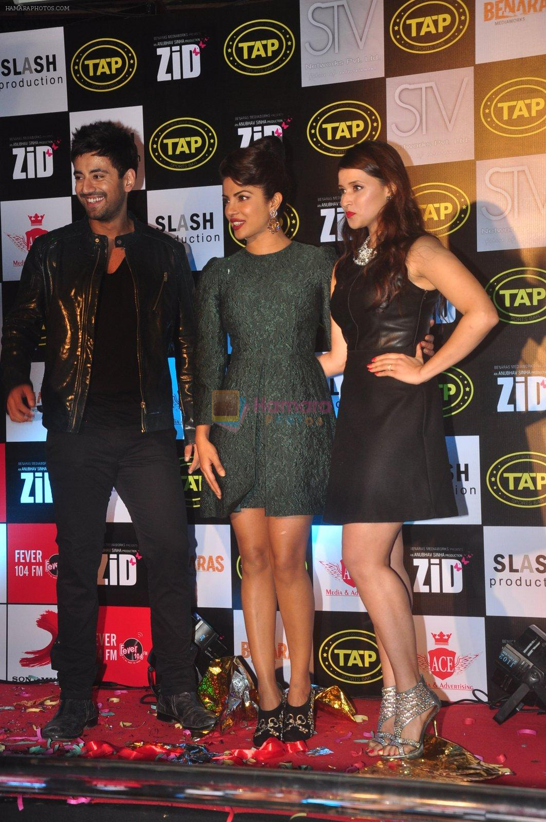 Karanvir Sharma, Priyanka Chopra, Mannara at Music success bash of Zid in Andheri, Mumbai on 25th Nov 2014