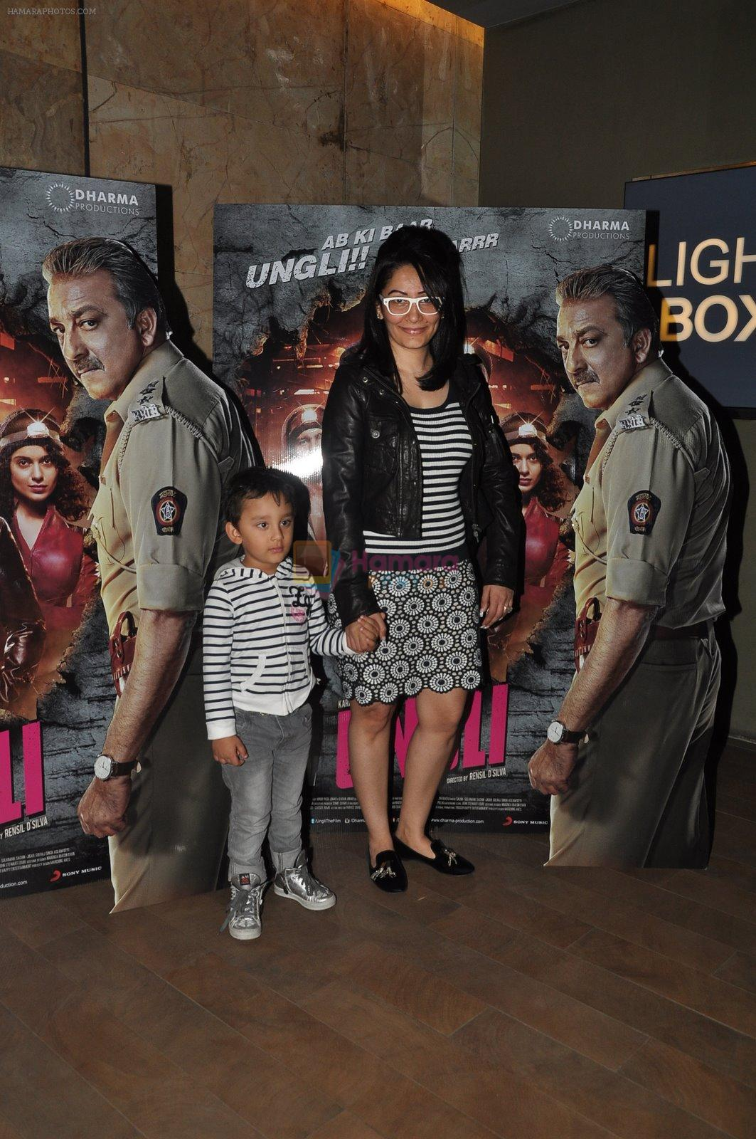 Manyata Dutt at Ungli screening in Lightbox on 27th Nov 2014