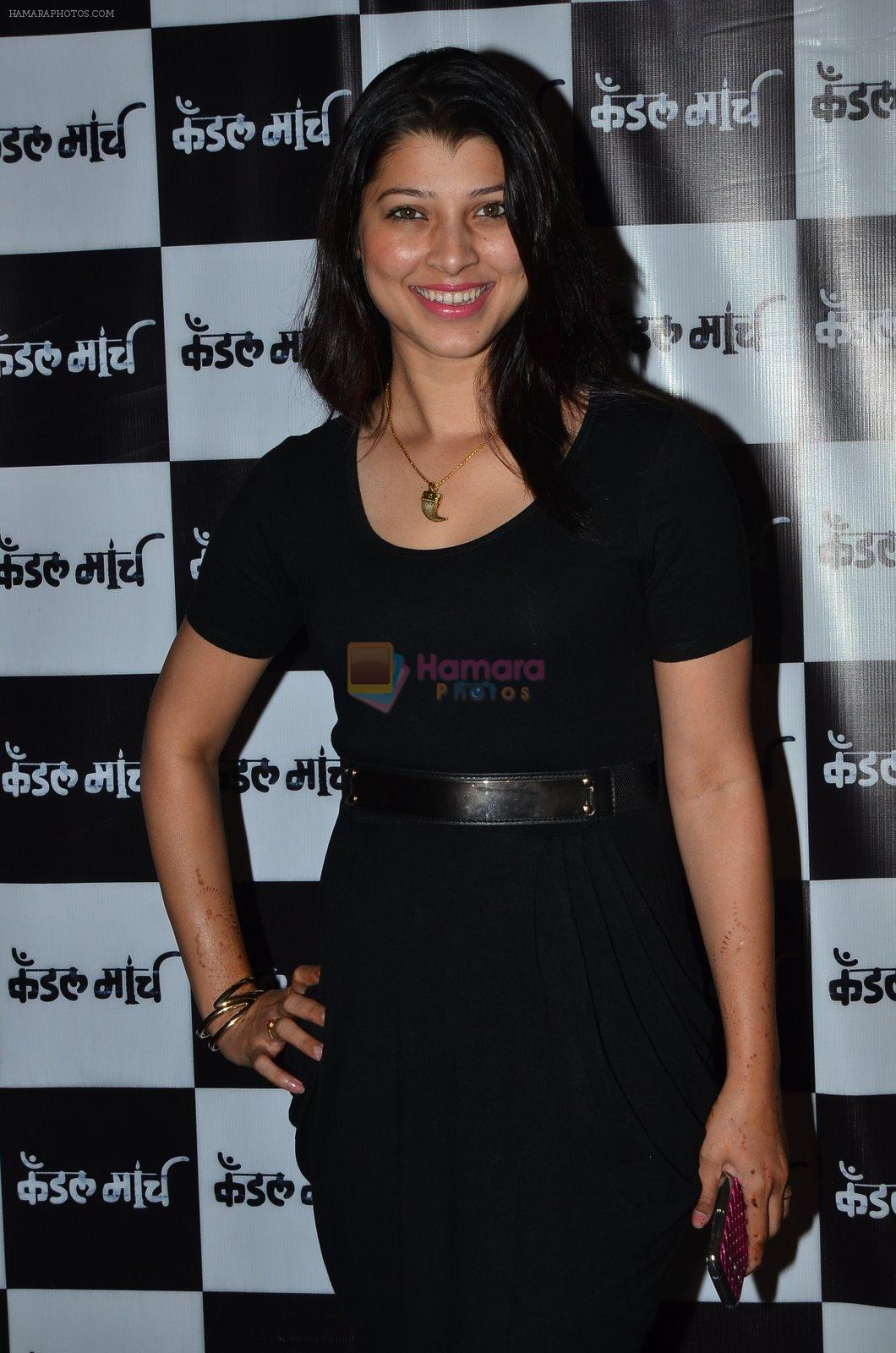 Tejaswini Pandit at Candle march screening in Mumbai on 4th Dec 2014
