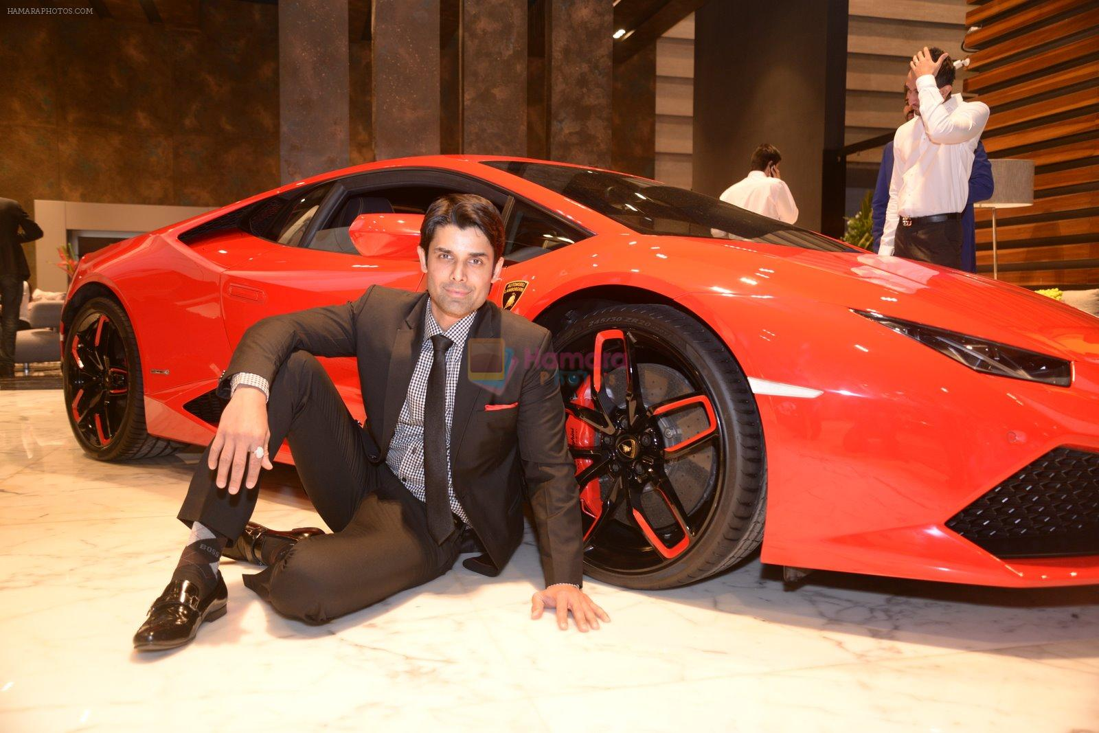 Ameet Gaur at Roche Bpbois and Lamborghini launch in Mumbai on 4th Dec 2014