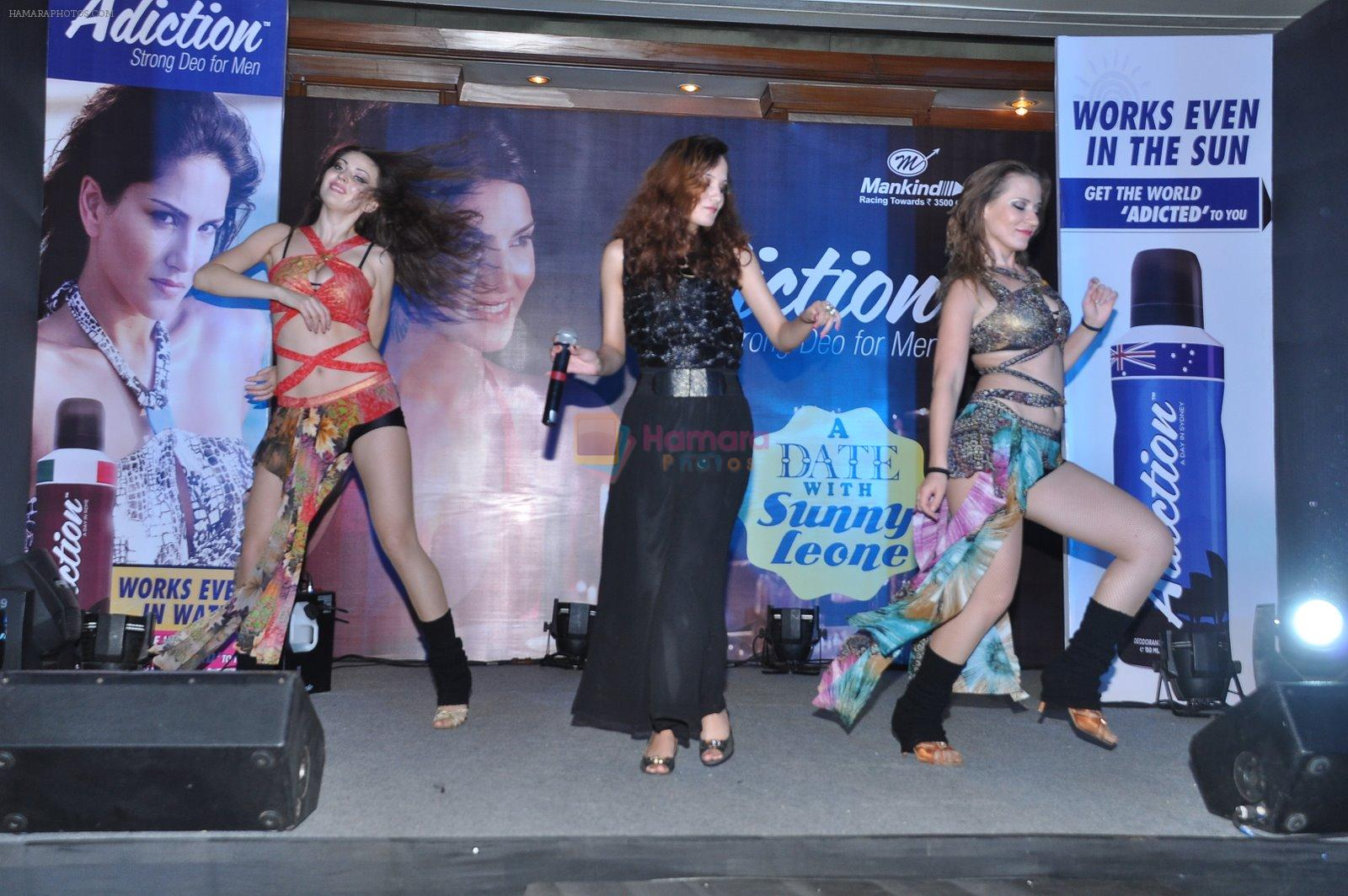 Sunny leone at addiction Deo launch in Juhu, Mumbai on 20th Dec 2014