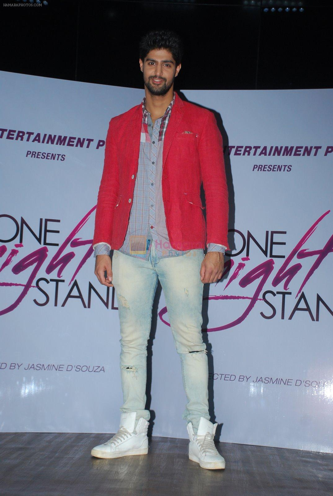 Tanuj Virwani at One Night stand promotions in Mumbai on 24th Dec 2014