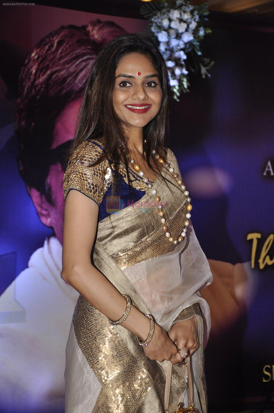 Madhoo Shah at Yash Chopra Memorial Award in Mumbai on 25th Dec 2014