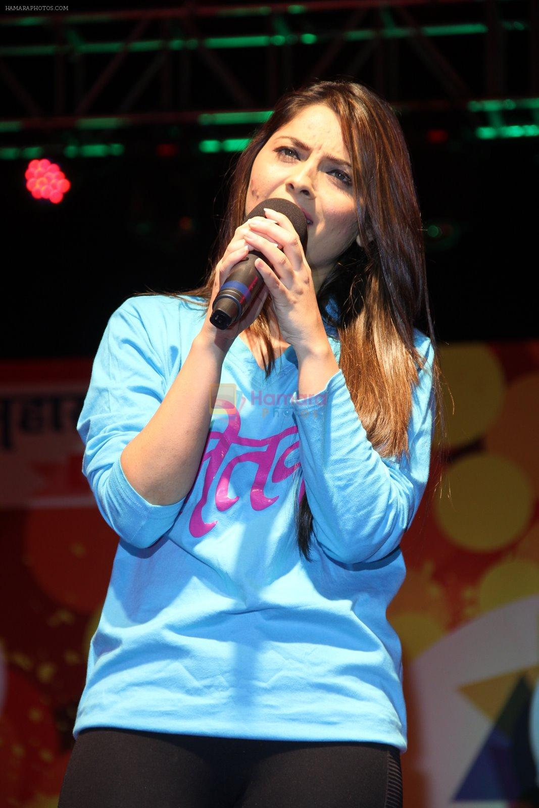 Sonalee Kulkarni at Mitwa film promotions in Thane, Mumbai on 28th Dec 2014