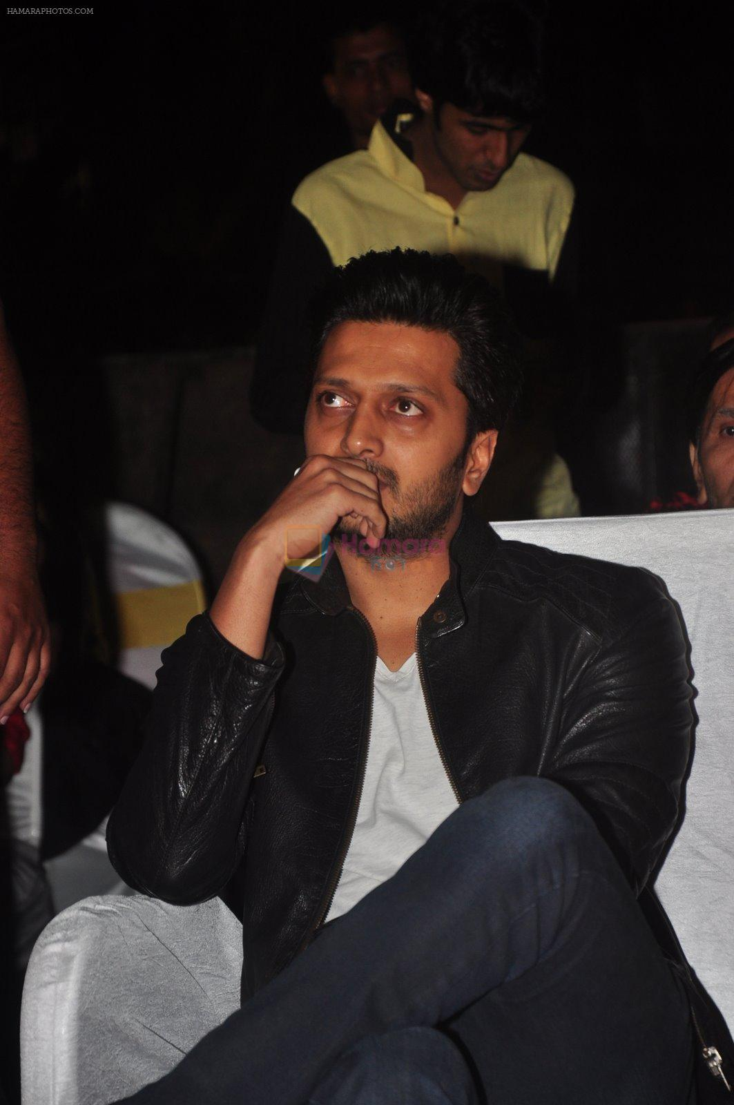 Riteish Deshmukh at Mulund Fest in Mumbai on 28th Dec 2014