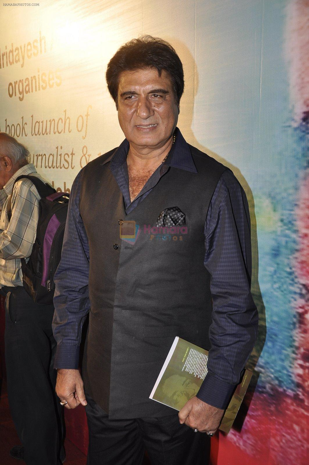 Raj babbar at Ali Peter John book launch in Mumbai on 28th Dec 2014