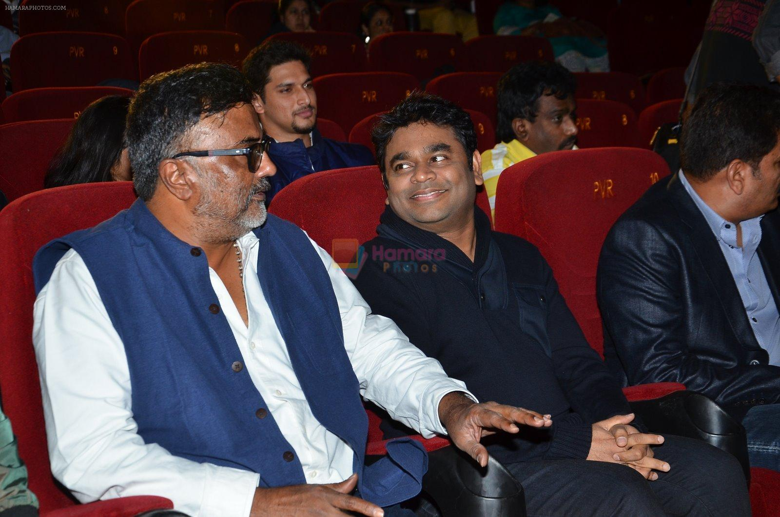 P.C. Sreeram, Shankar, A R Rahman at I movie trailor launch in PVR, Mumbai on 29th Dec 2014
