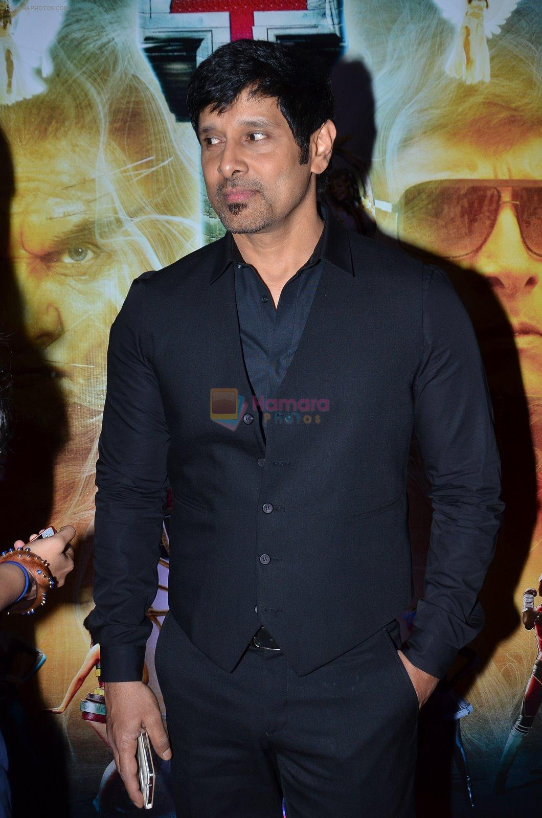 Chiyaan Vikram at I movie trailor launch in PVR, Mumbai on 29th Dec 2014