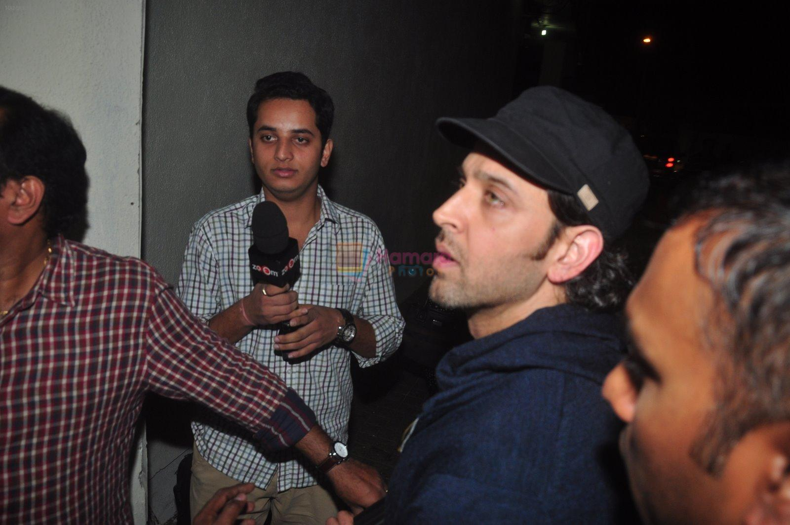 Hrithik Roshan snapped at PVR on 29th Dec 2014