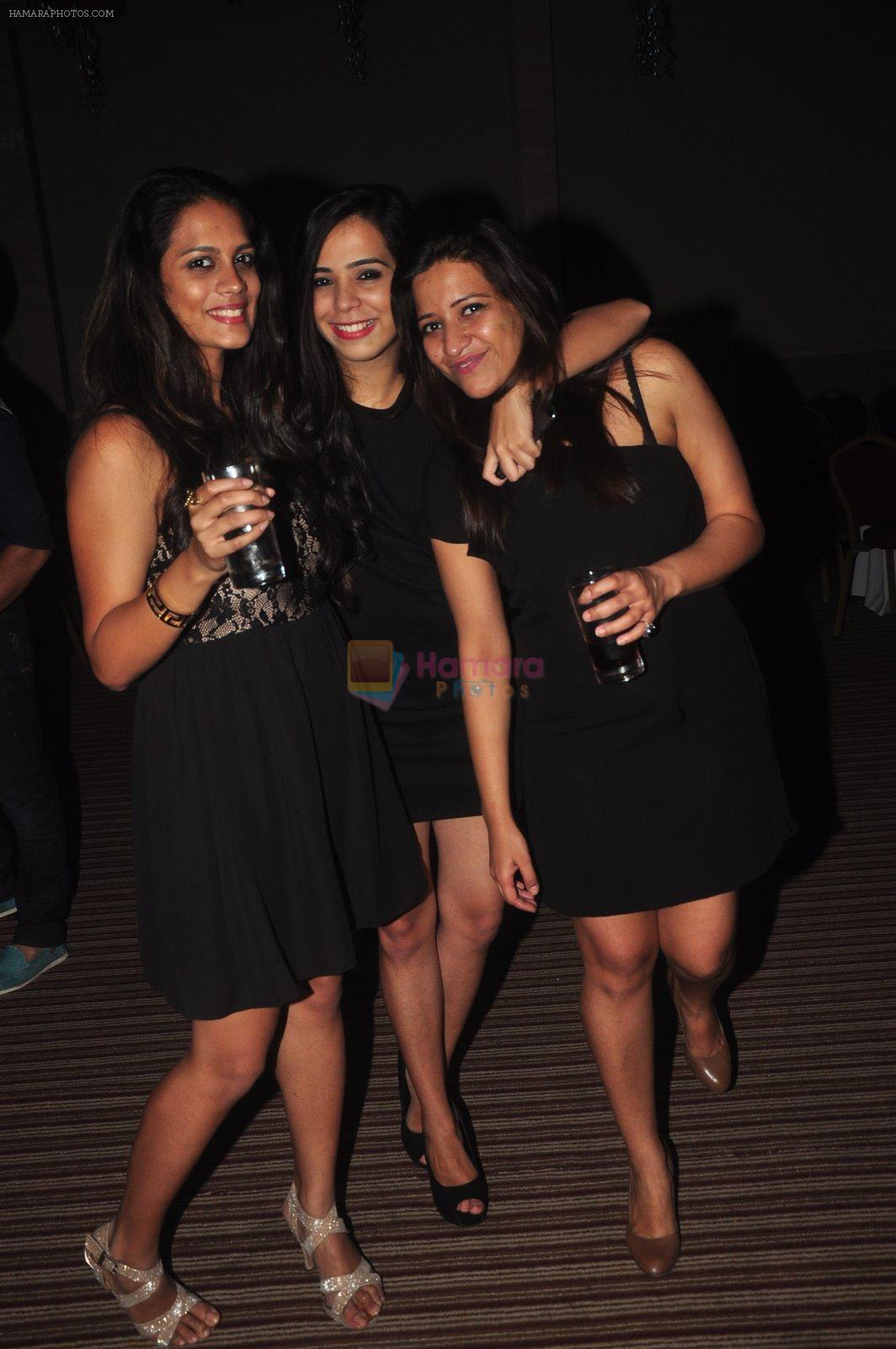 at Ravi Dubey's birthday bash hosted by Sargun mehta in Mumbai on 29th Dec 2014