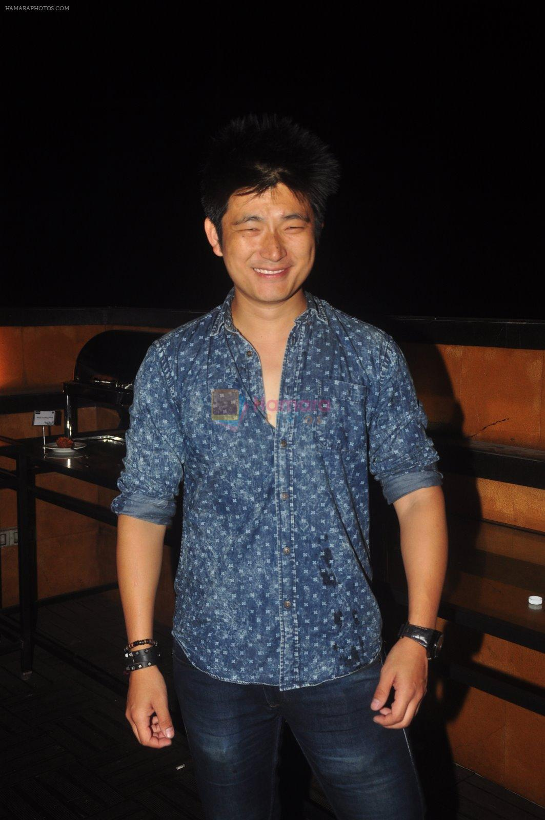 Meiyang Chang at Ravi Dubey's birthday bash hosted by Sargun mehta in Mumbai on 29th Dec 2014