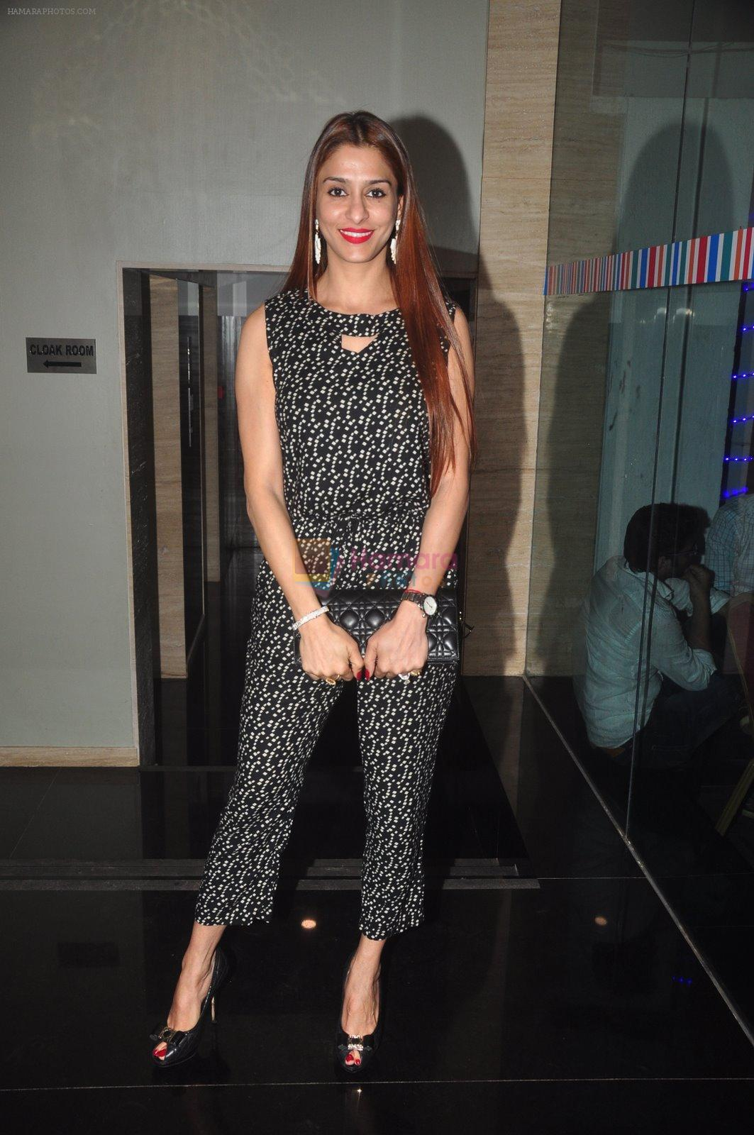 Shilpa Saklani at Ravi Dubey's birthday bash hosted by Sargun mehta in Mumbai on 29th Dec 2014
