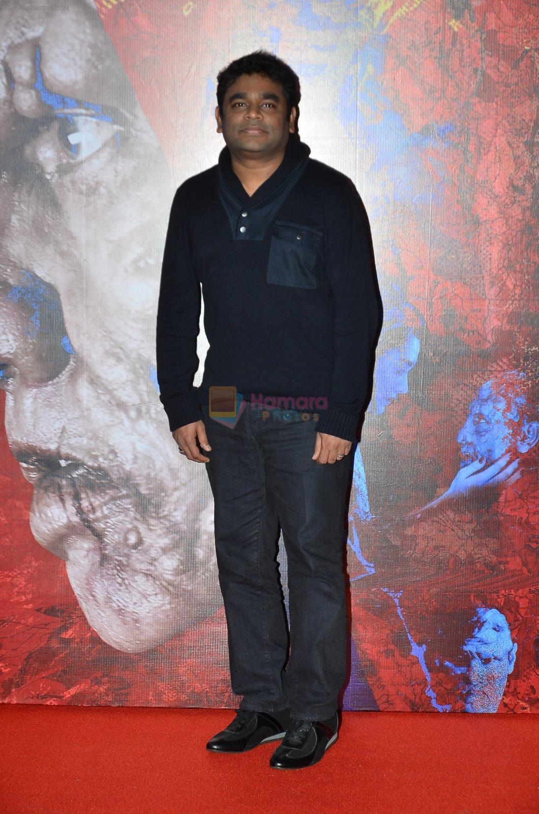 A R Rahman at I movie trailor launch in PVR, Mumbai on 29th Dec 2014