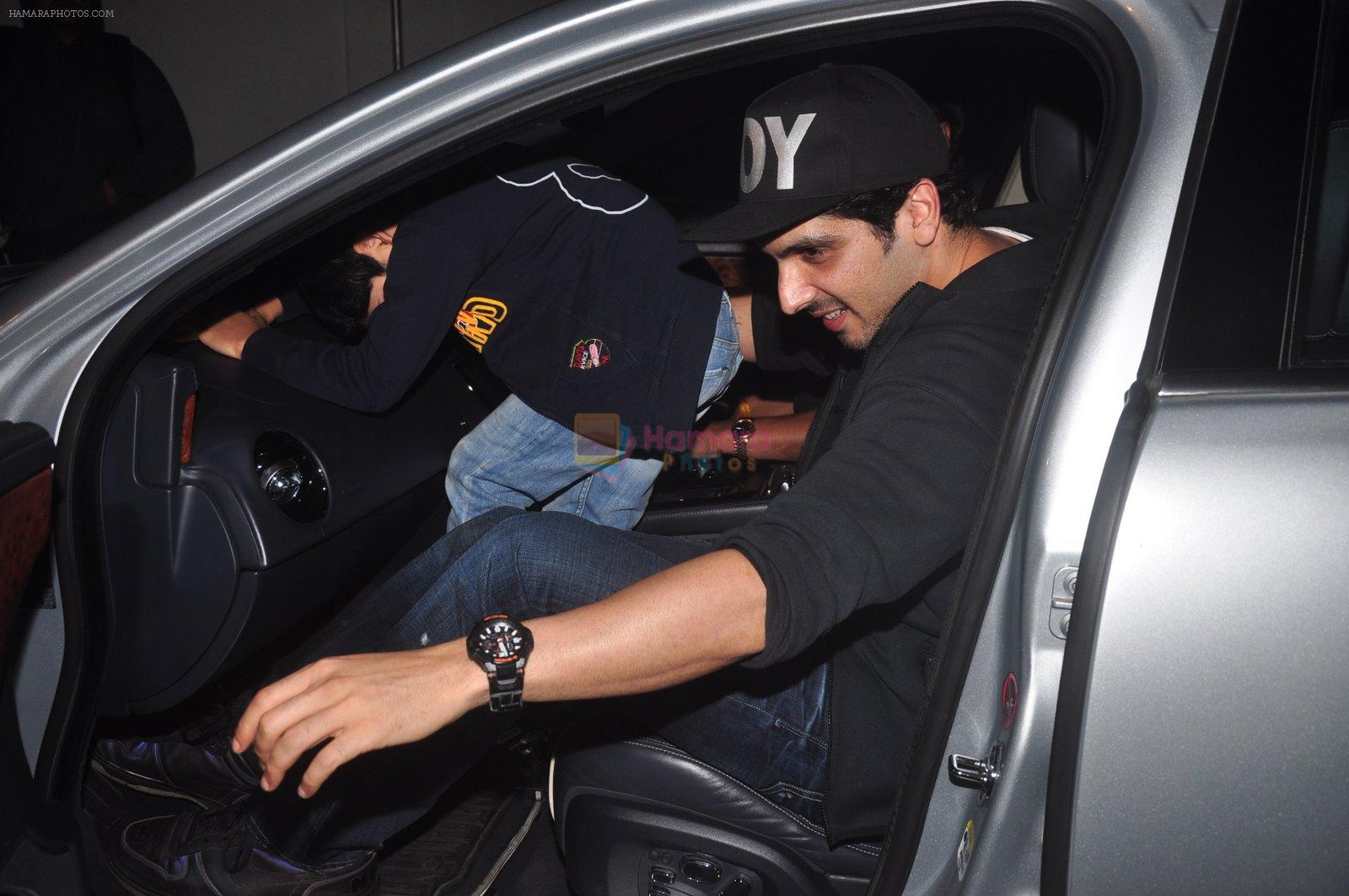 Zayed Khan snapped at PVR on 29th Dec 2014