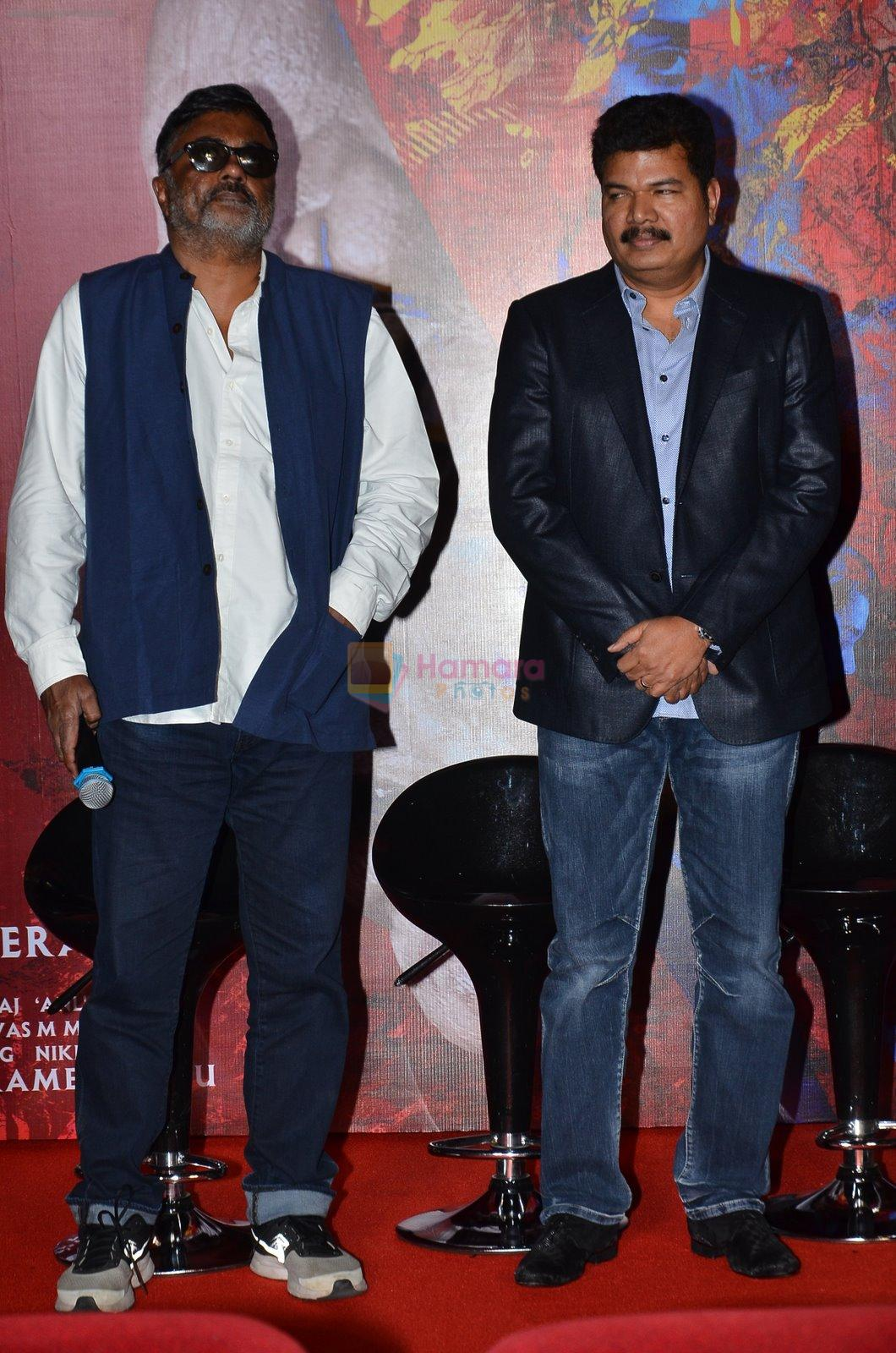 P.C. Sreeram at I movie trailor launch in PVR, Mumbai on 29th Dec 2014