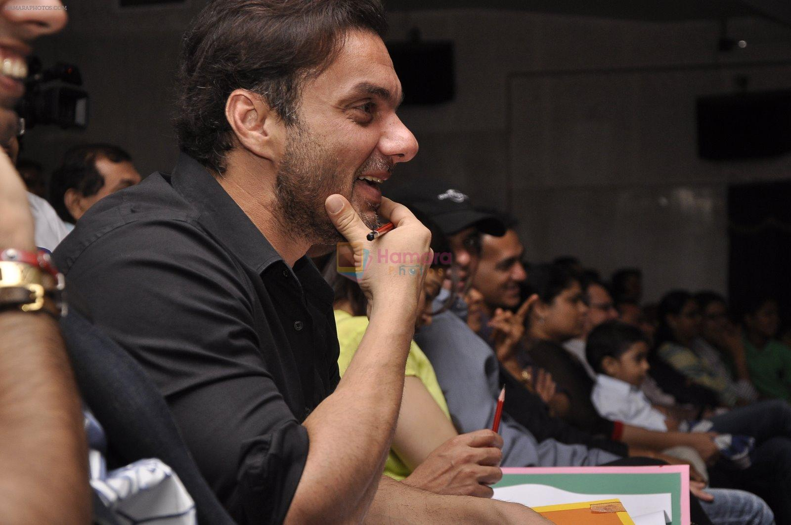 Sohail Khan, Alvira Khan, Atul Agnihotri, Vatsal Seth at School Event in Mumbai on 9th Jan 2015