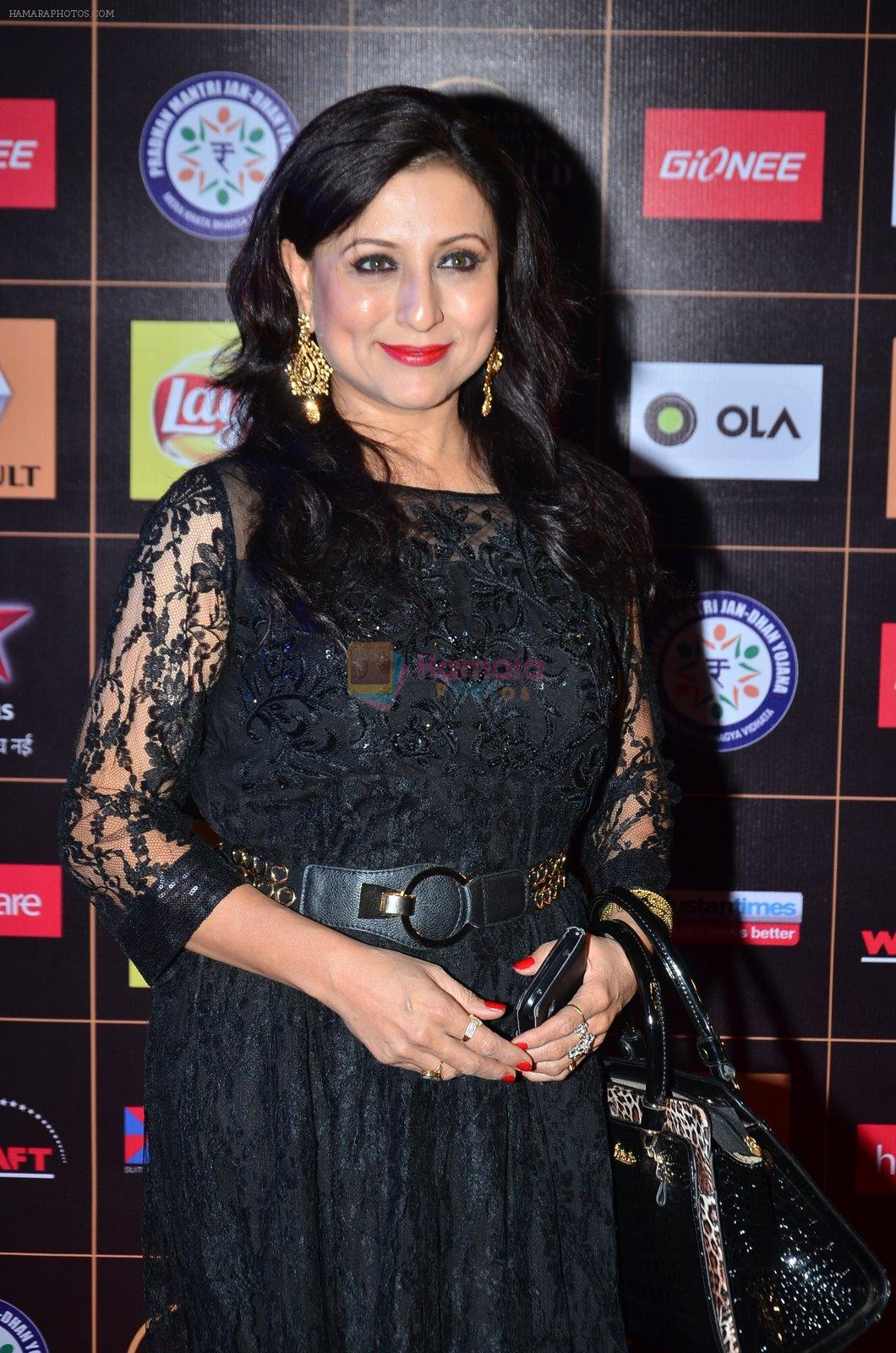 Kishori Shahane at Producers Guild Awards 2015 in Mumbai on 11th Jan 2015