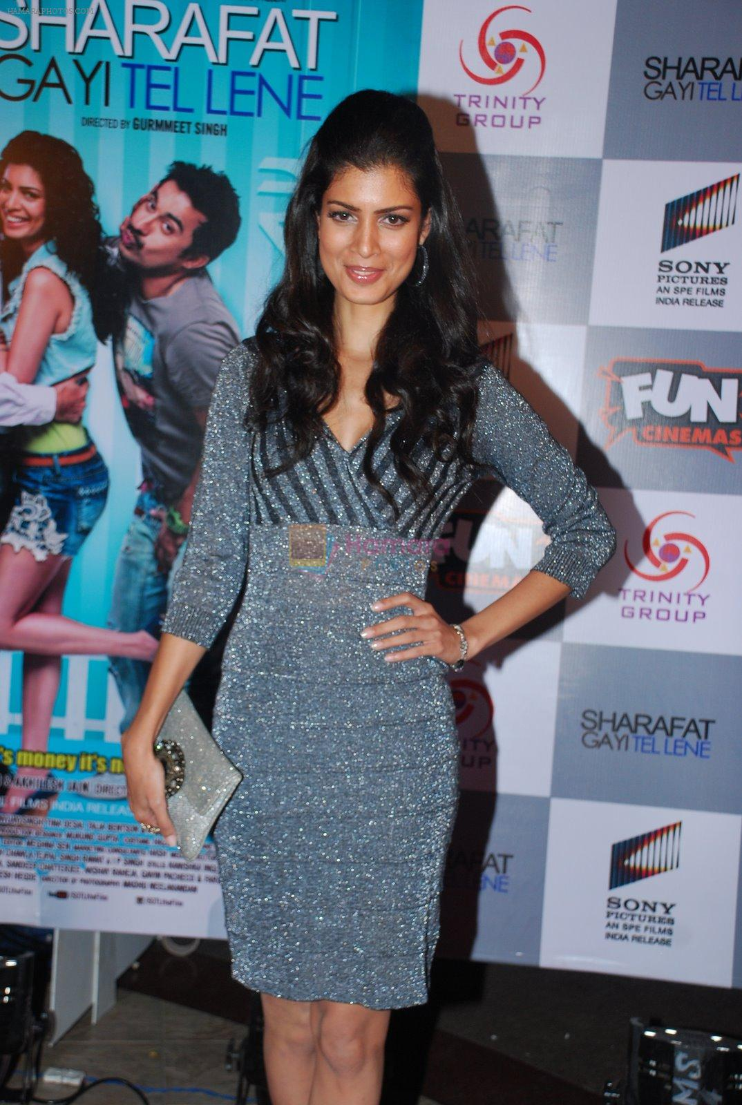 Tena Desae at the Premiere of Sharafat Gayi Tel Lene in Fun, Mumbai on 15th Jan 2015