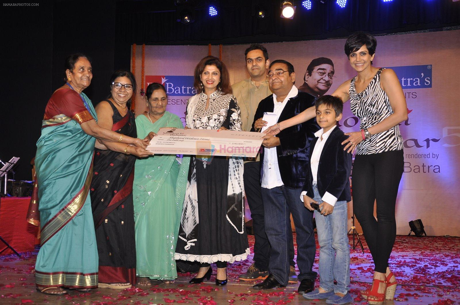 Mandira Bedi, Varsha Usgaonkar at Dr Batra's concert in NCPA, Mumbai on 16th Jan 2015