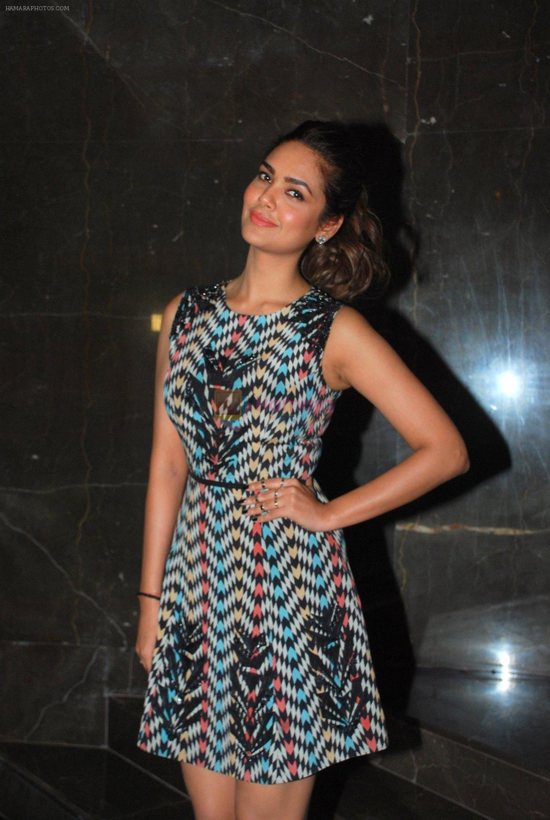 Esha Gupta at Baby screening in Fun Cinemas on 21st Jan 2015