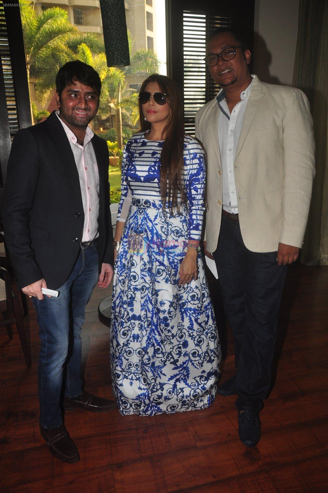 at India Beach Fashion Week press meet in J W Marriott, Mumbai on 21st Jan 2015