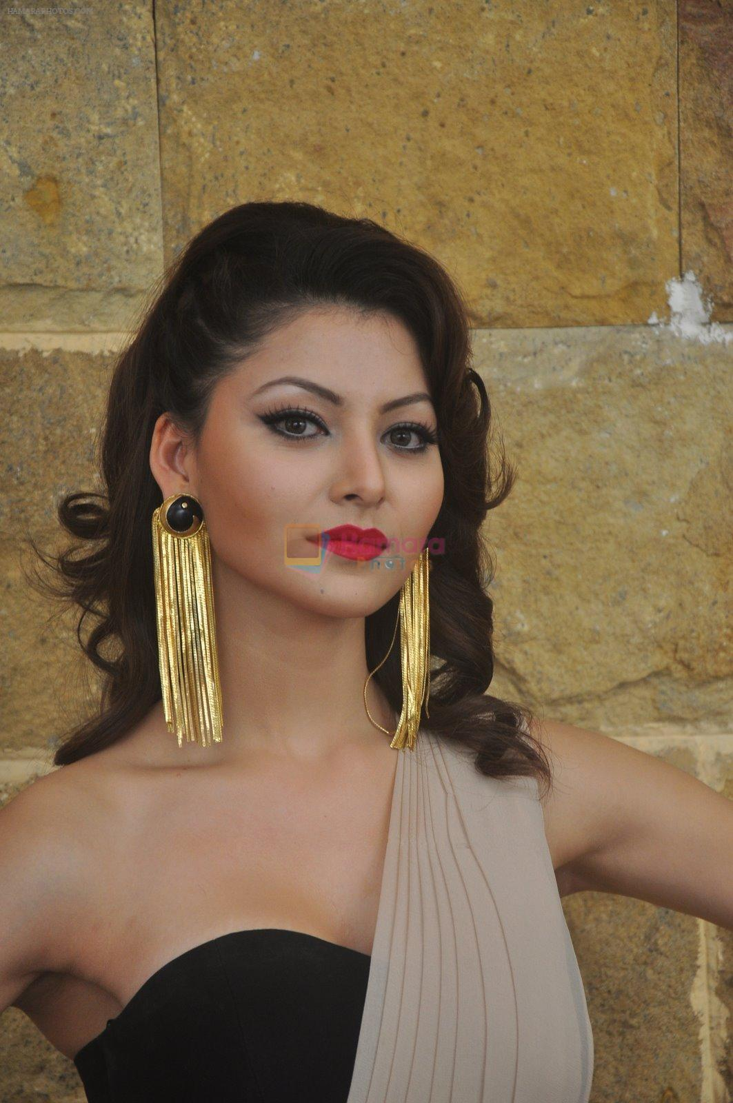 Urvashi Rautela at India Beach Fashion Week press meet in J W Marriott, Mumbai on 21st Jan 2015