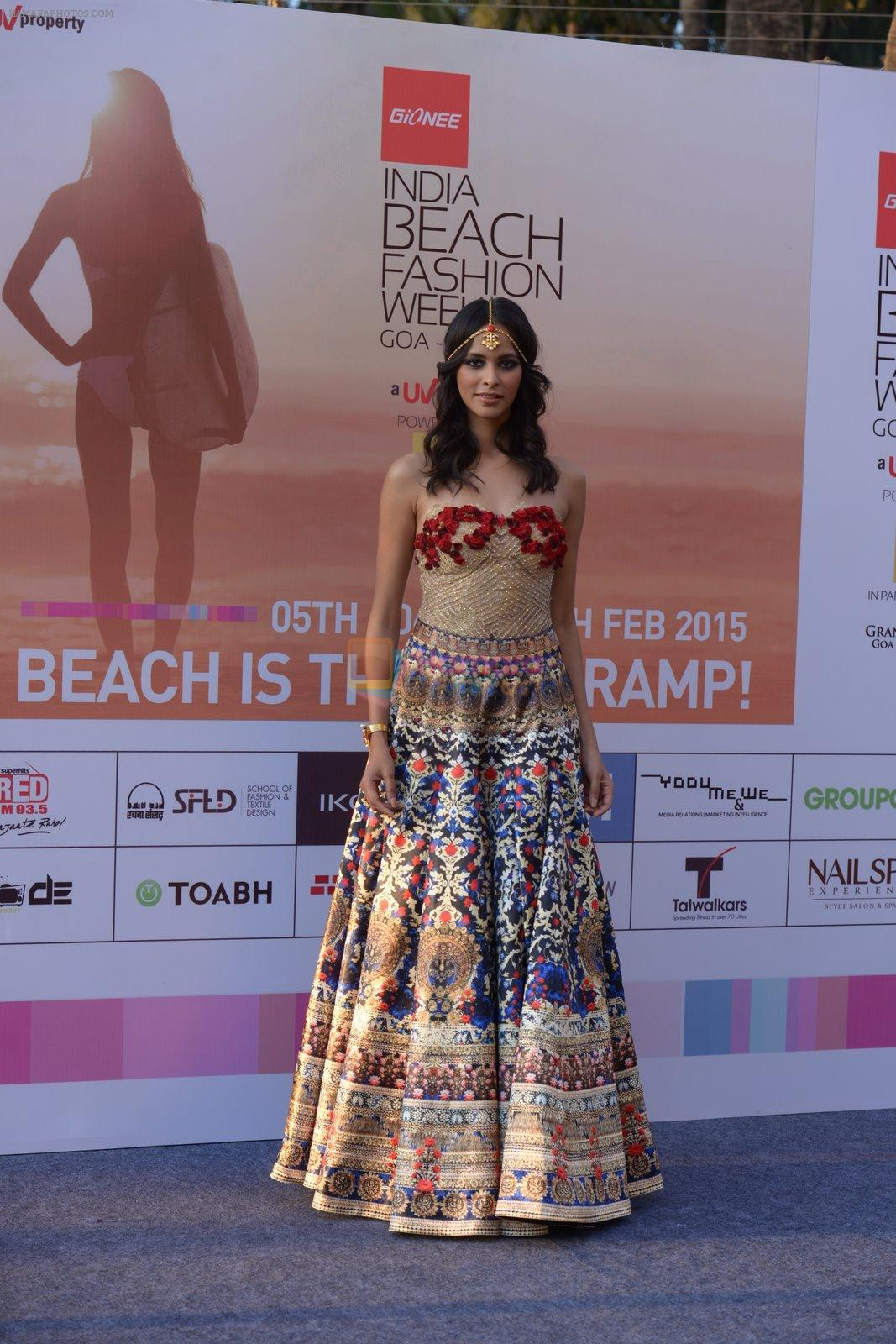 Madhu Sneha at India Beach Fashion Week press meet in J W Marriott, Mumbai on 21st Jan 2015