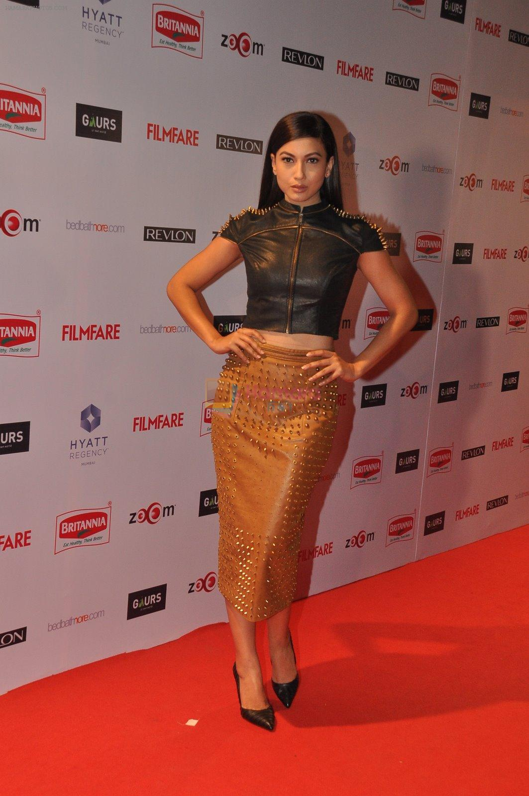 Gauhar Khan at Filmfare Nominations bash in Hyatt Regency, Mumbai on 22nd Jan 2015