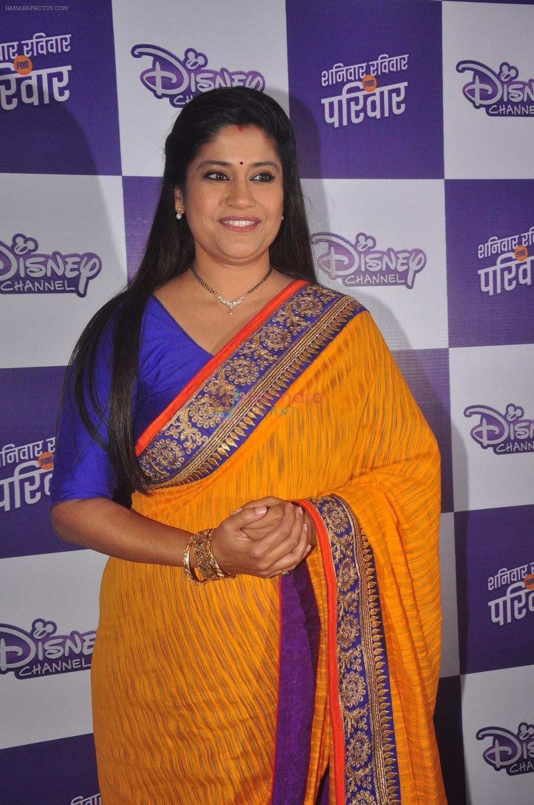 Renuka Shahane at Disney launches new shows and poitined as family channel in Courtyard Marriott, Mumbai on 22nd Jan 2015