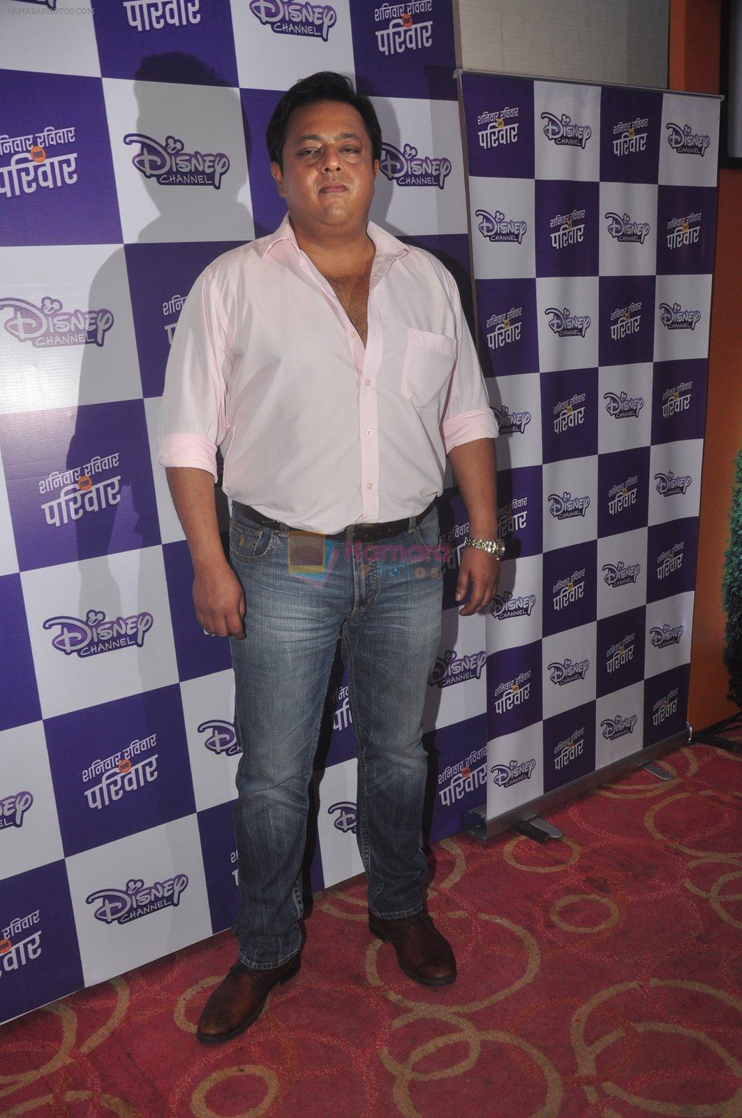 Nitesh Pandey at Disney launches new shows and poitined as family channel in Courtyard Marriott, Mumbai on 22nd Jan 2015