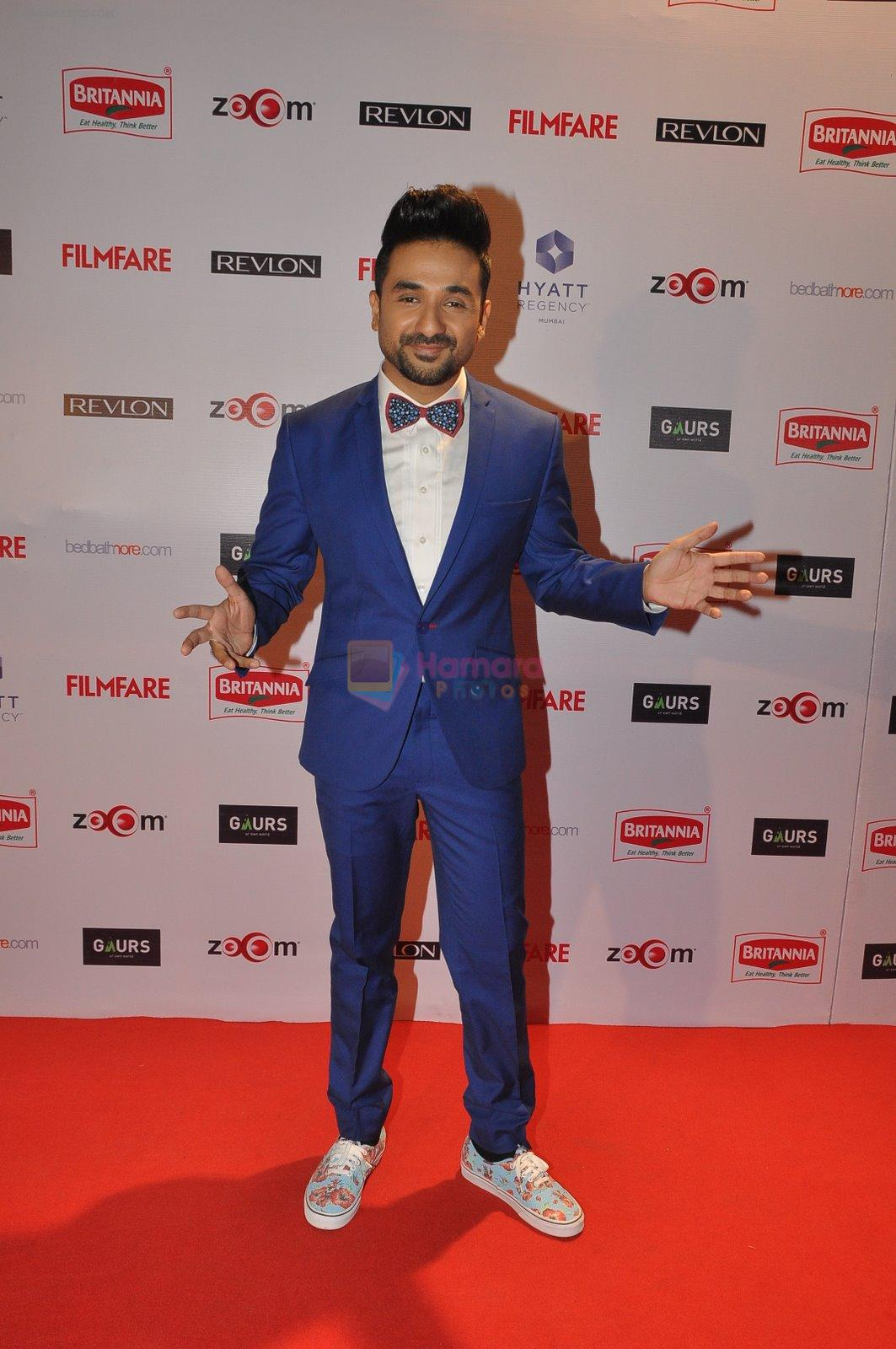 Vir Das at Filmfare Nominations bash in Hyatt Regency, Mumbai on 22nd Jan 2015