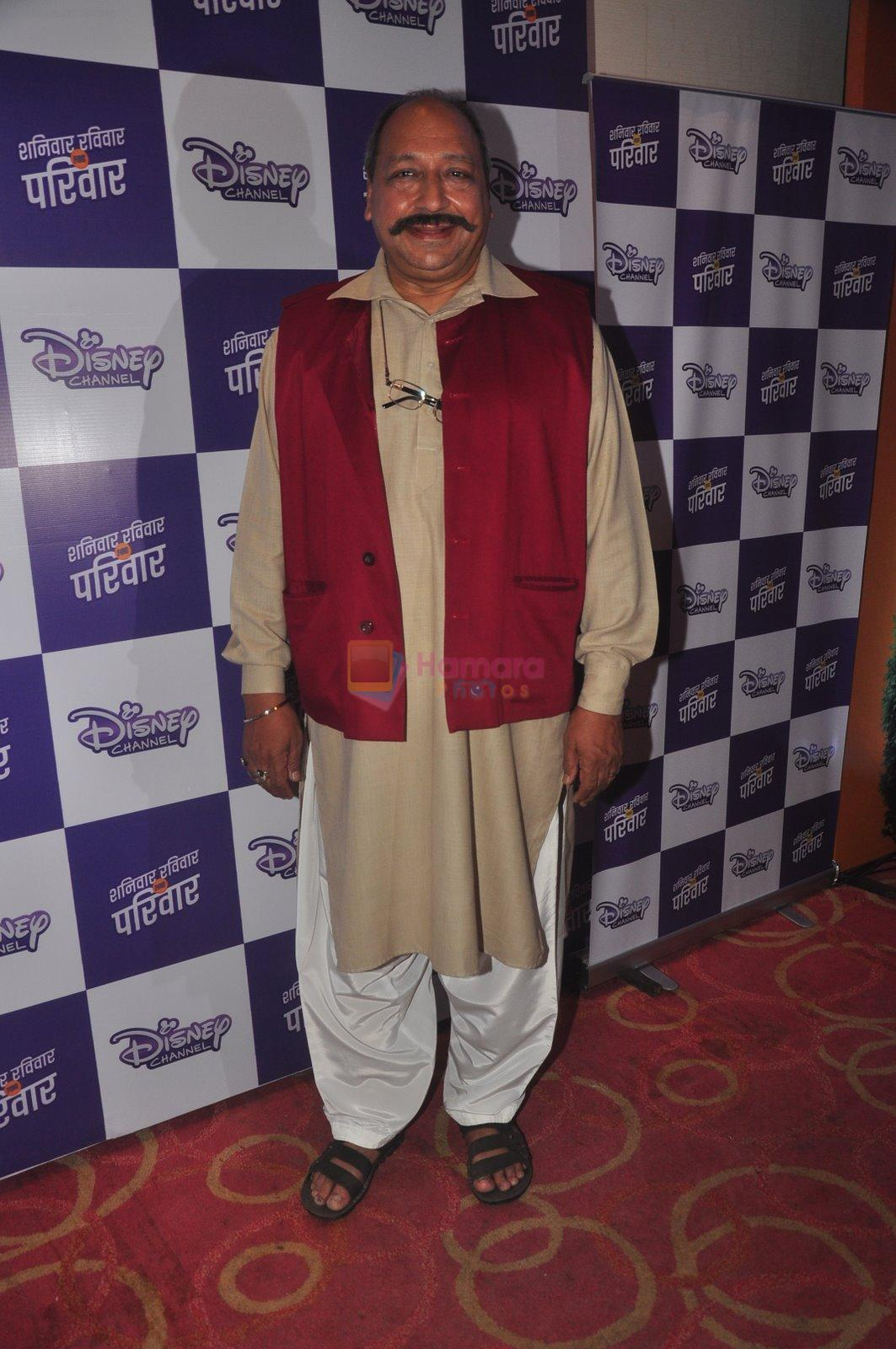 Sudhir Pandey at Disney launches new shows and poitined as family channel in Courtyard Marriott, Mumbai on 22nd Jan 2015