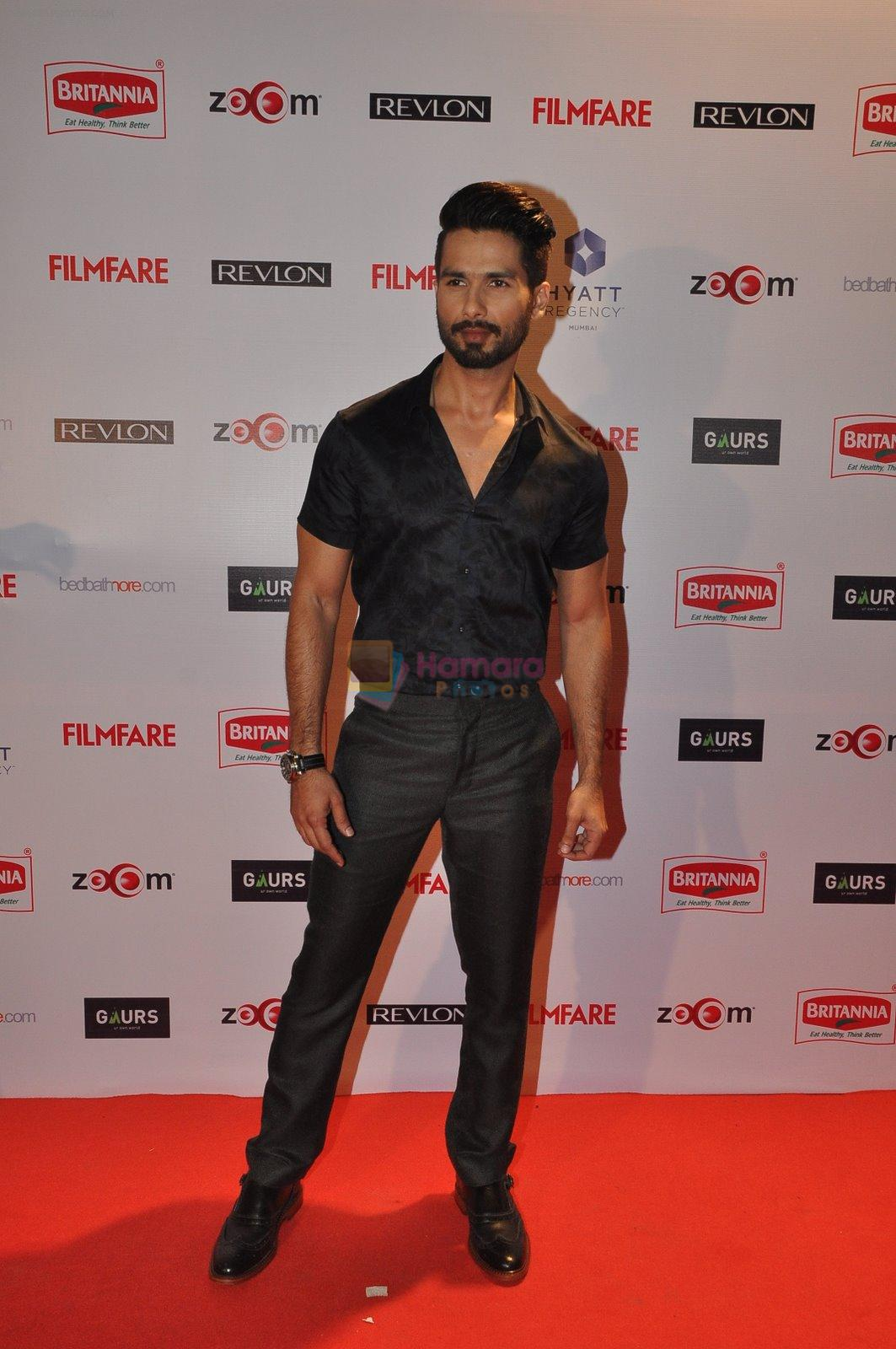 Shahid Kapoor at Filmfare Nominations bash in Hyatt Regency, Mumbai on 22nd Jan 2015