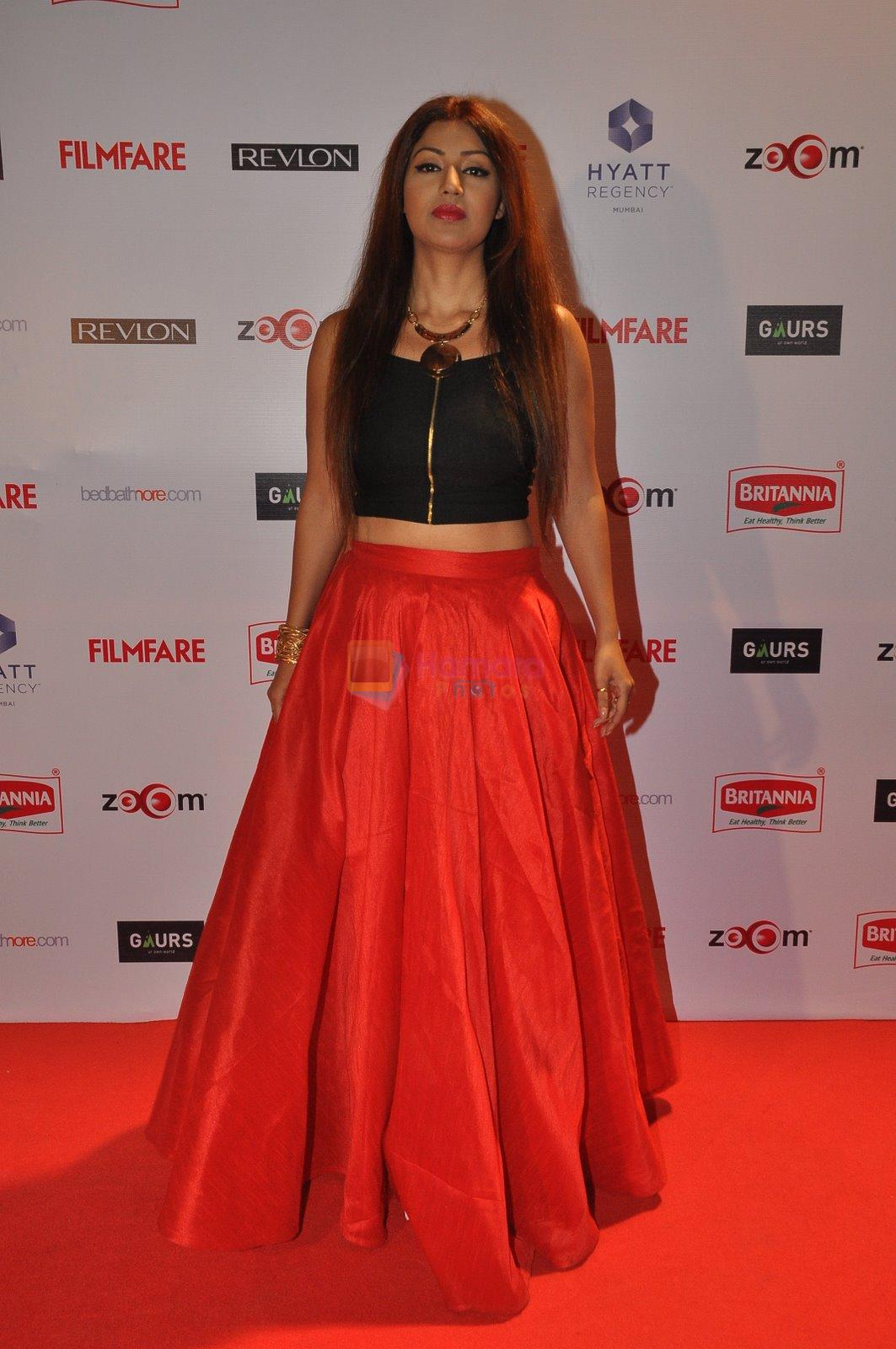 Debina Bonerjee at Filmfare Nominations bash in Hyatt Regency, Mumbai on 22nd Jan 2015