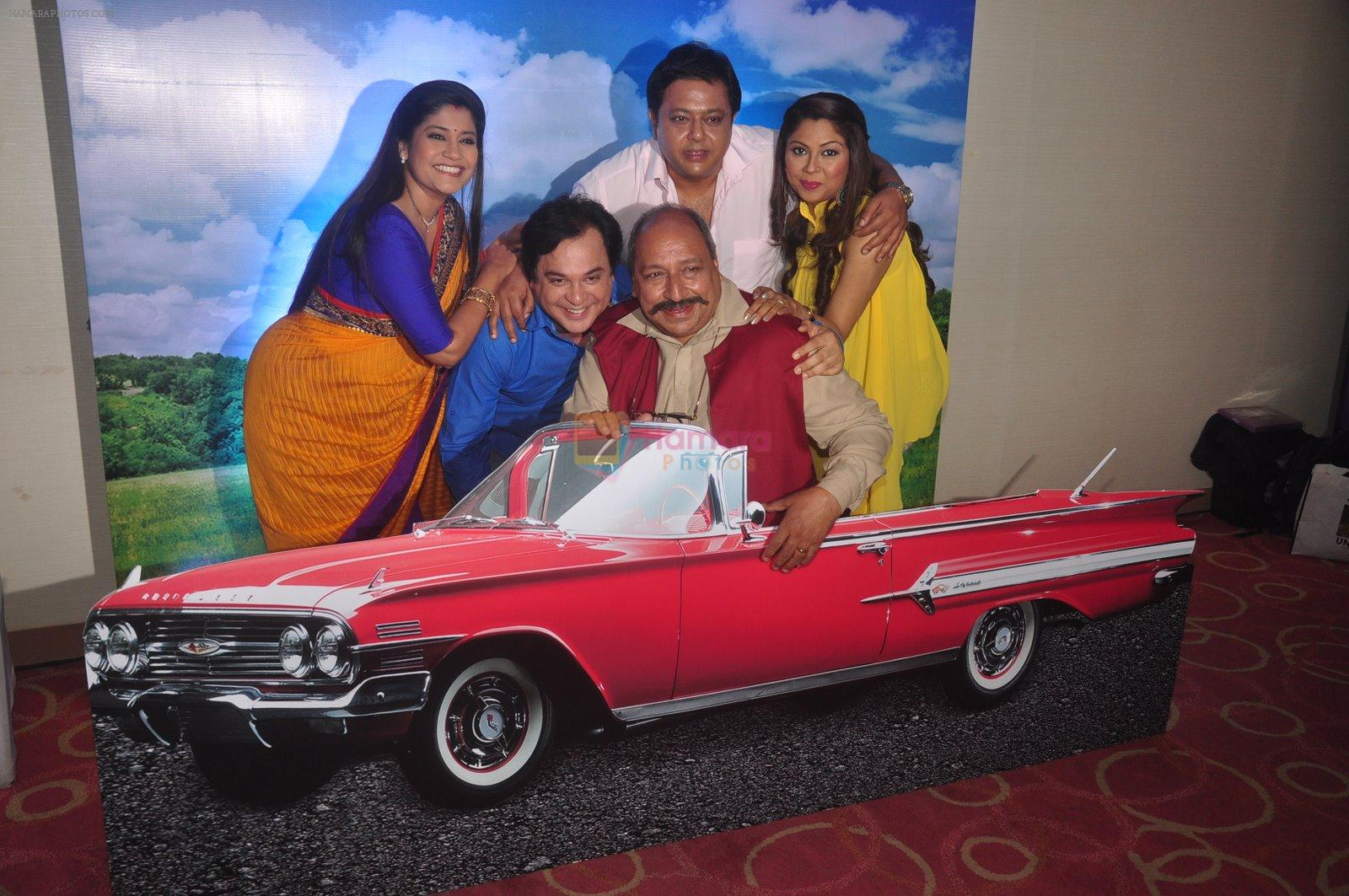 Renuka Shahane,Mahesh Thakur,Sudhir Pandey,Nitesh Pandey, Manini at Disney launches new shows and poitined as family channel in Courtyard Marriott on 22nd Jan 2