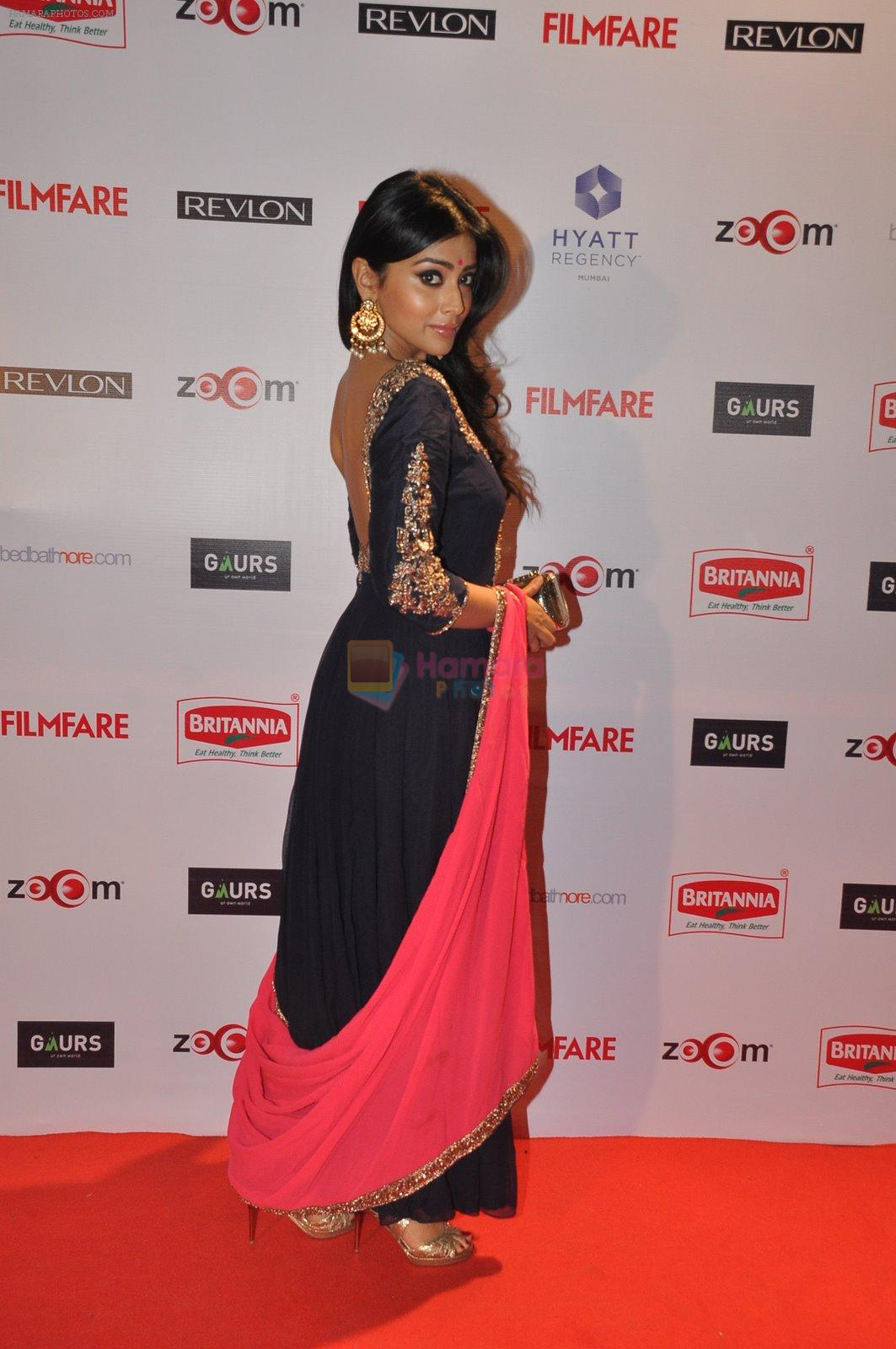 Shriya Saran at Filmfare Nominations bash in Hyatt Regency, Mumbai on 22nd Jan 2015