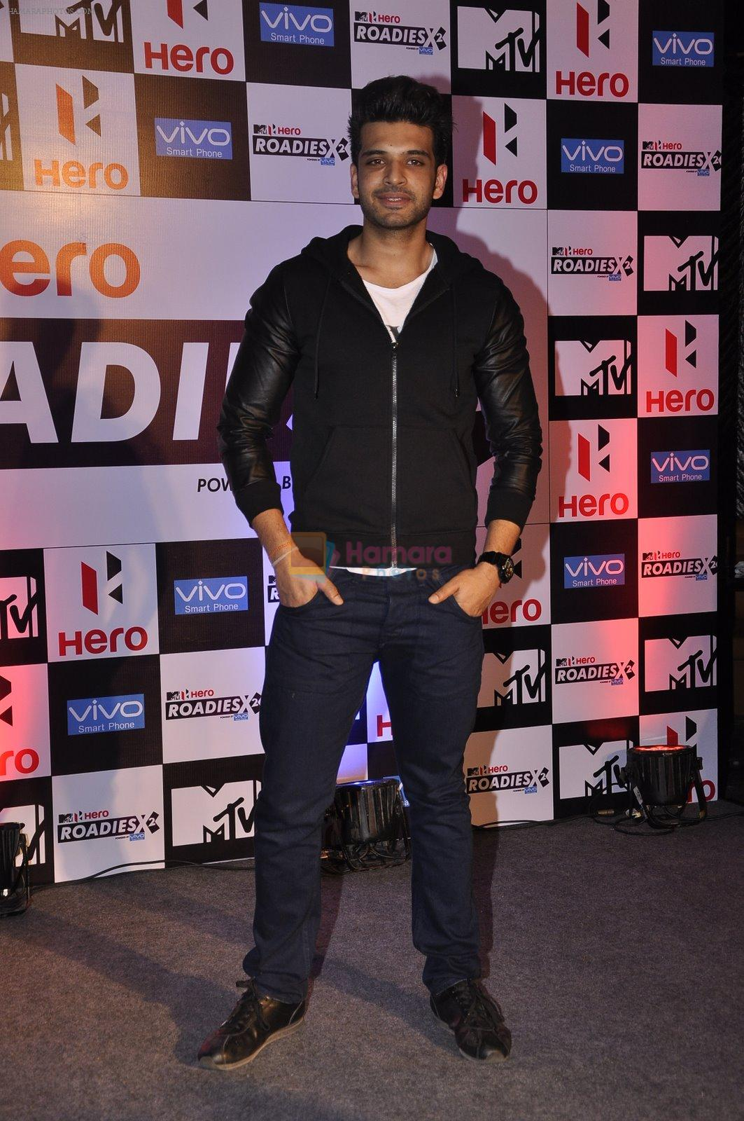 at MTV Roadies press meet in Parel, Mumbai on 22nd Jan 2015