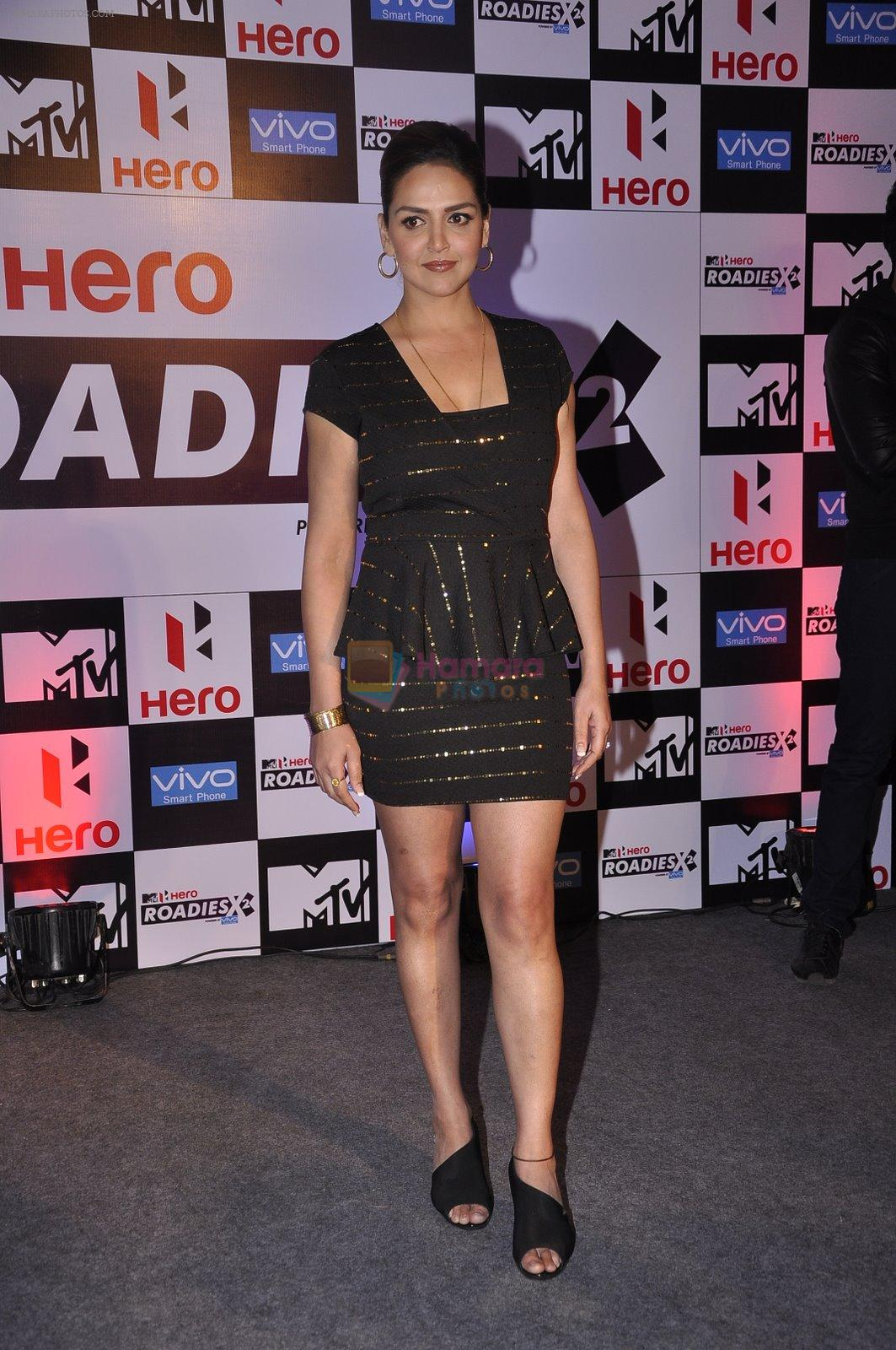 Esha Deol at MTV Roadies press meet in Parel, Mumbai on 22nd Jan 2015