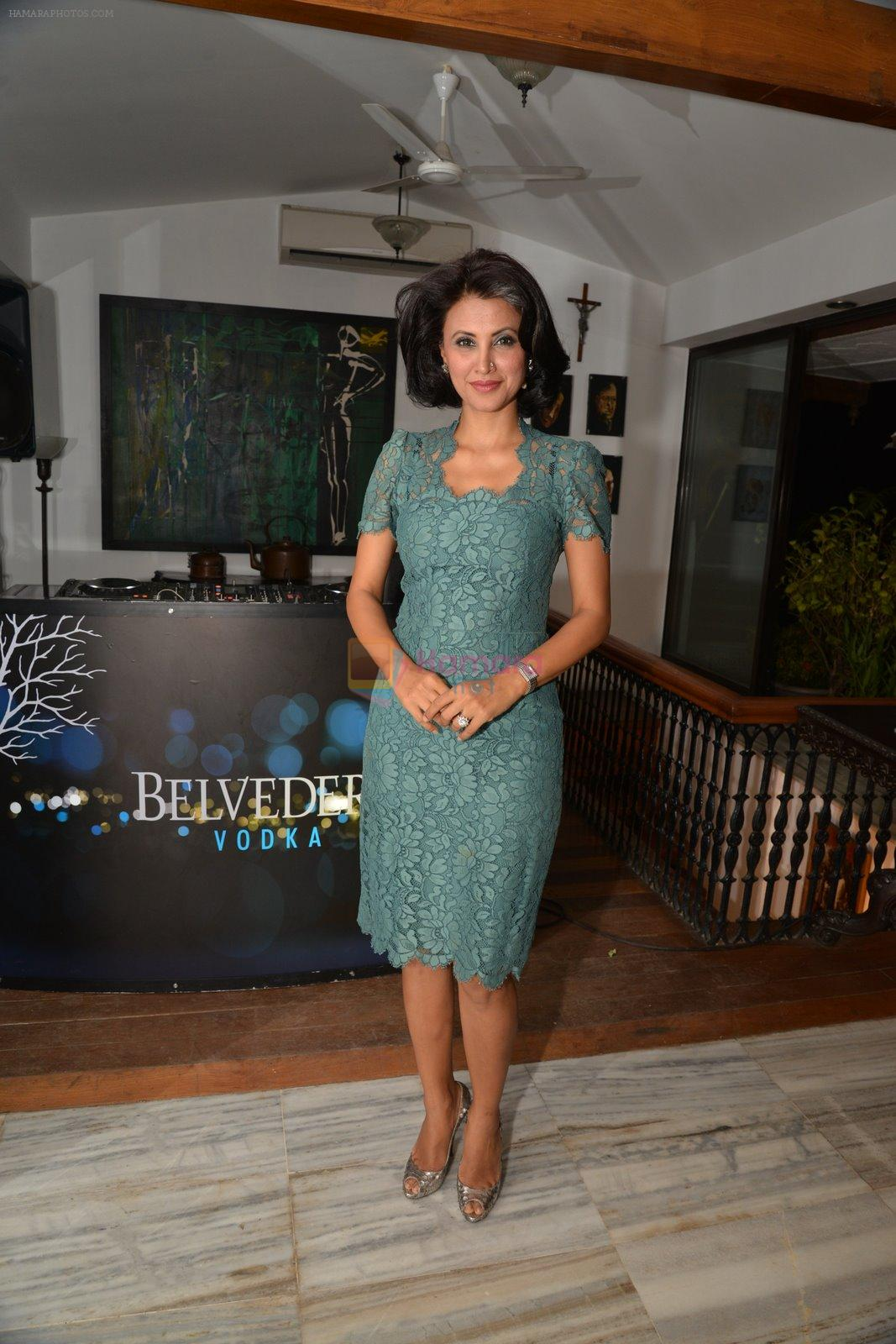 at Belvedare bash in Mumbai on 23rd Jan 2015