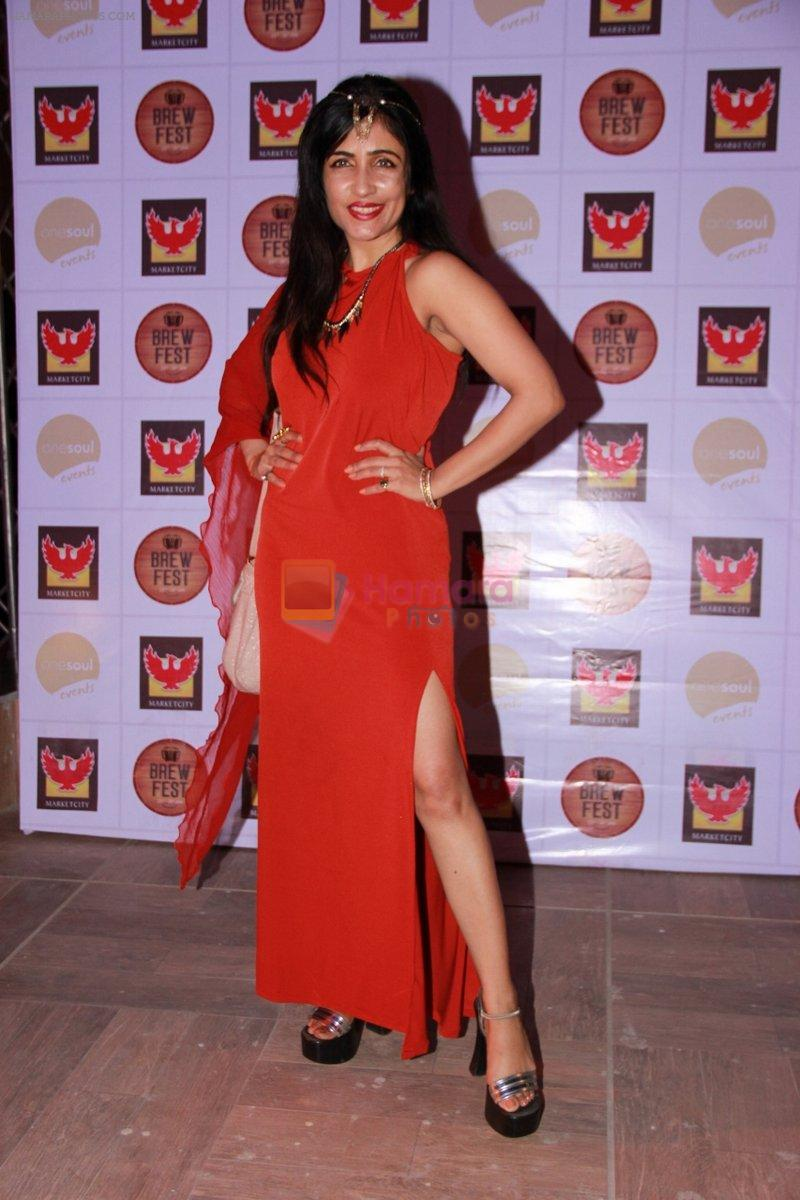 Shibani Kashyap at the Brew Fest in Mumbai on 23rd Jan 2015