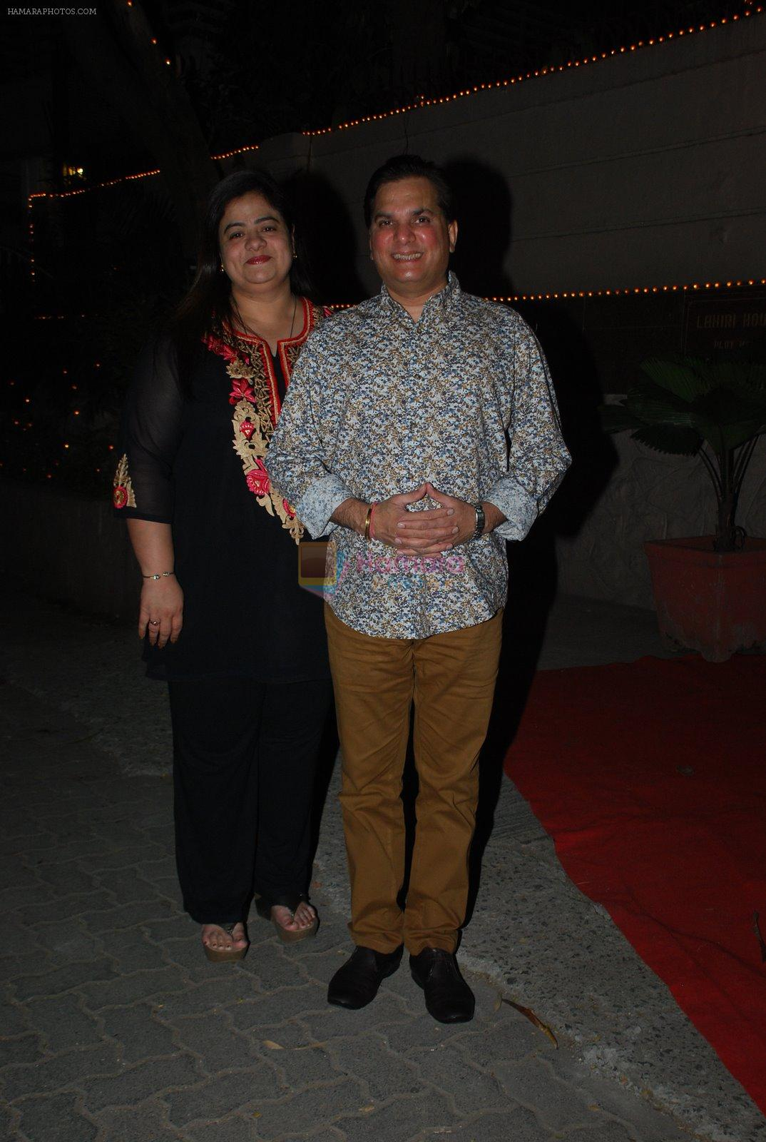 Lalit Pandit at Bappi Lahiri's wedding anniversary in Juhu, Mumbai on 23rd Jan 2014