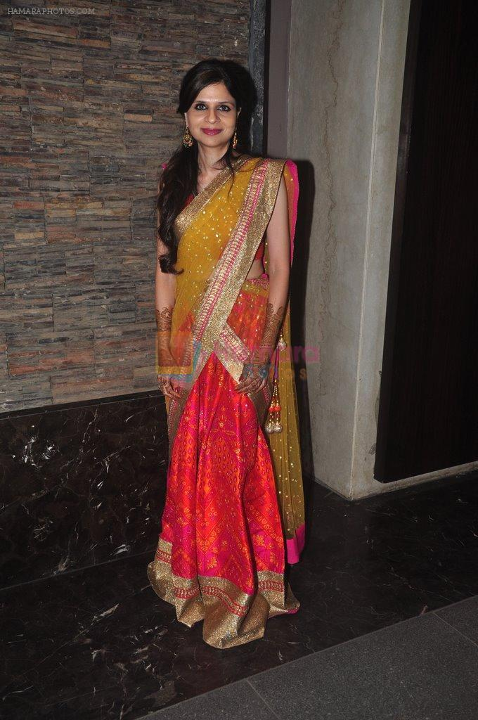 at Soha Ali Khan's mehendi in Khar on 23rd Jan 2015
