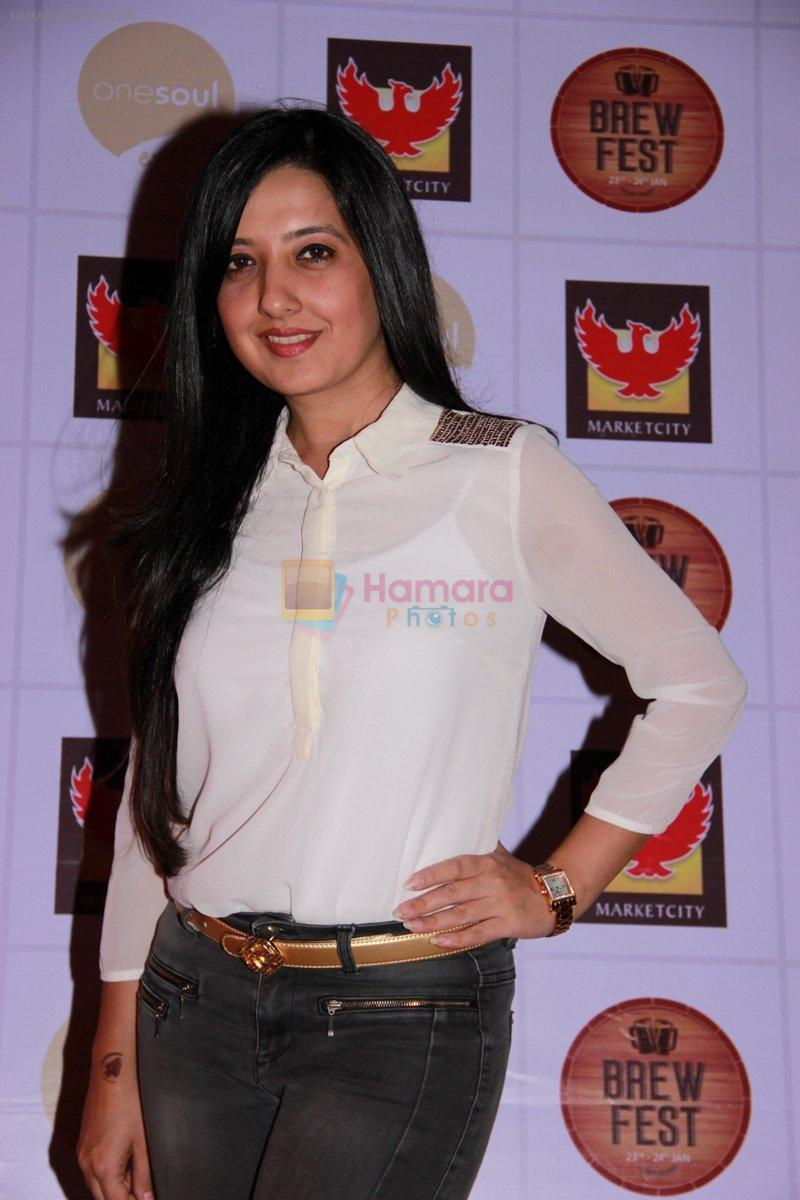 Amy Billimoria at the Brew Fest in Mumbai on 23rd Jan 2015