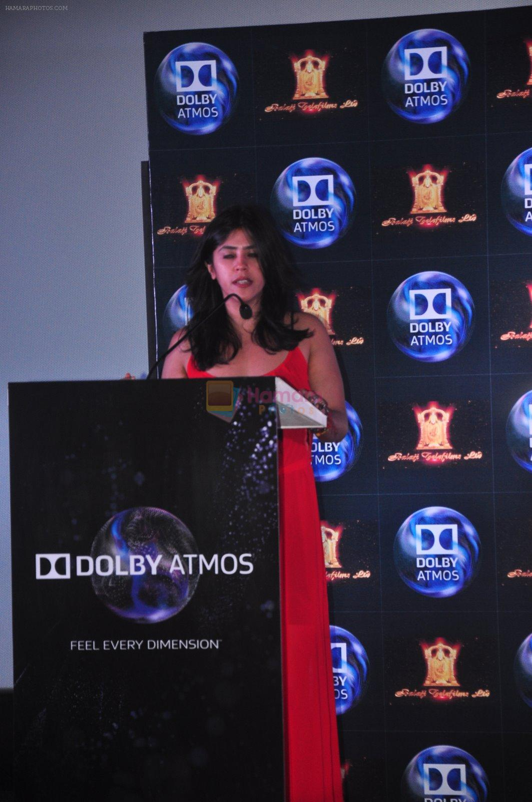 Ekta Kapoor at Dolby Atmos press meet in Fun, Mumbai on 23rd Jan 2015