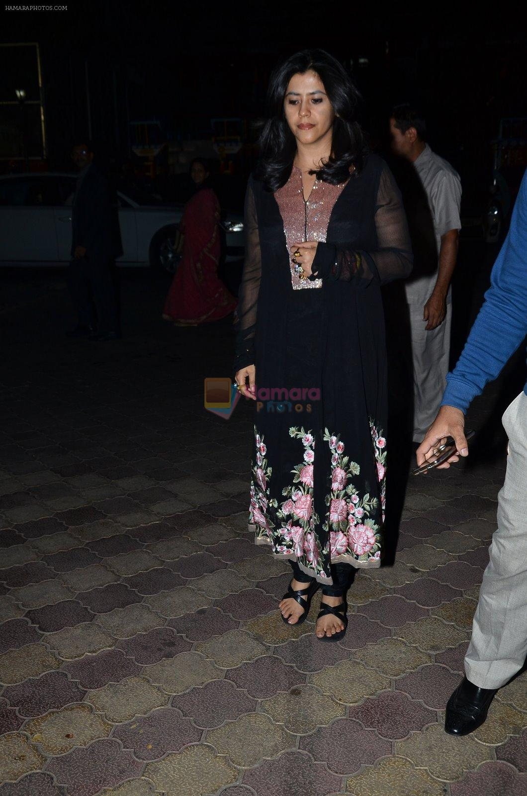 Ekta Kapoor at Bharat Gaurav Achievement award in Isckon, Mumbai on 24th Jan 2015