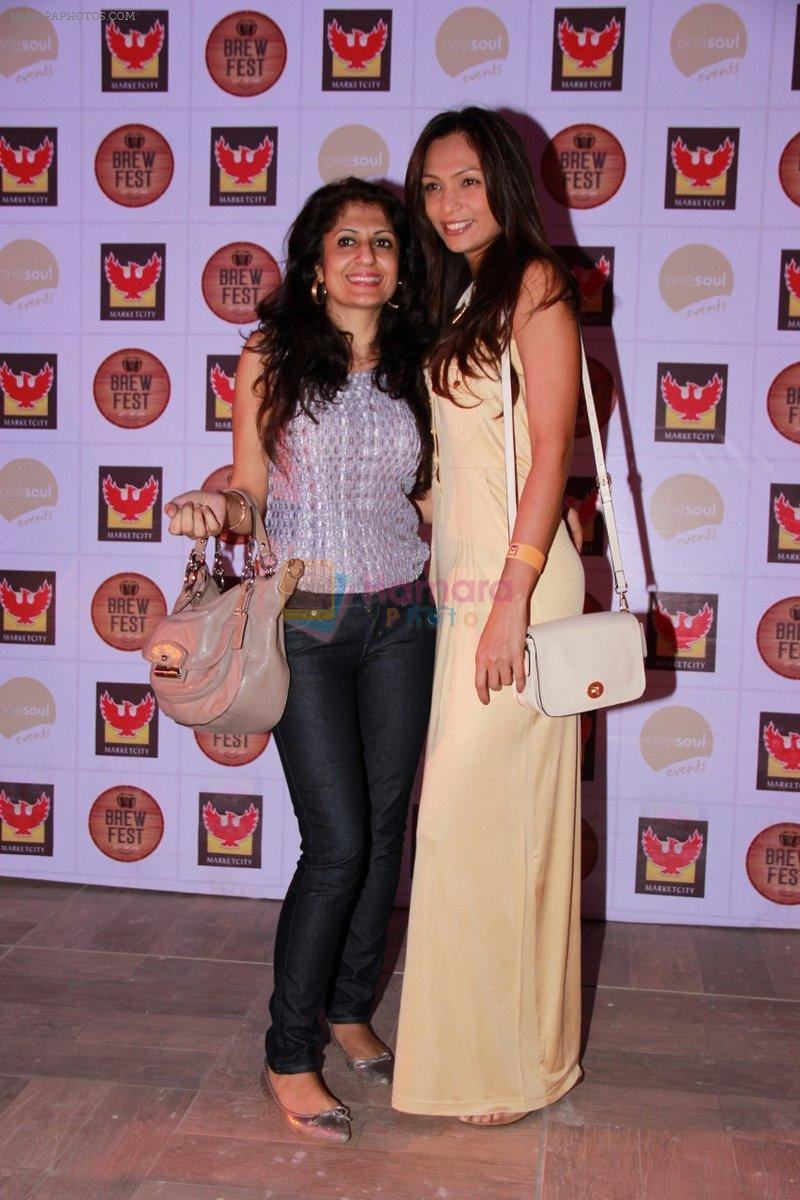 Shamita Singha at the Brew Fest in Mumbai on 23rd Jan 2015