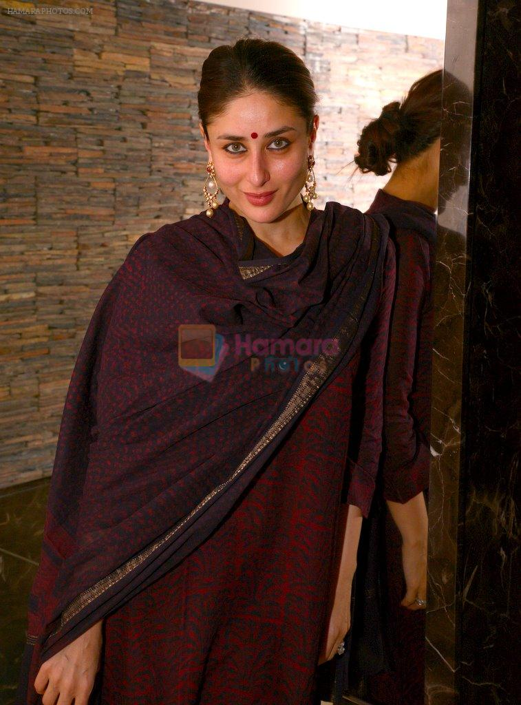 Kareena Kapoor at Soha Ali Khan's mehendi in Khar on 23rd Jan 2015